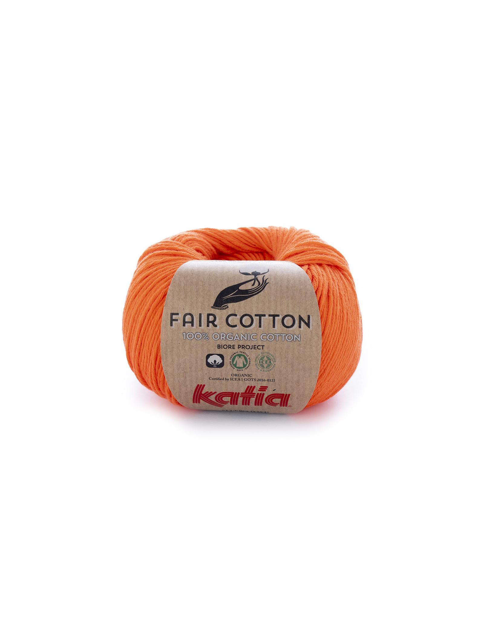 Katia Katia Fair Cotton  31 - oranje - - 50 gr. - 100% biol. katoen