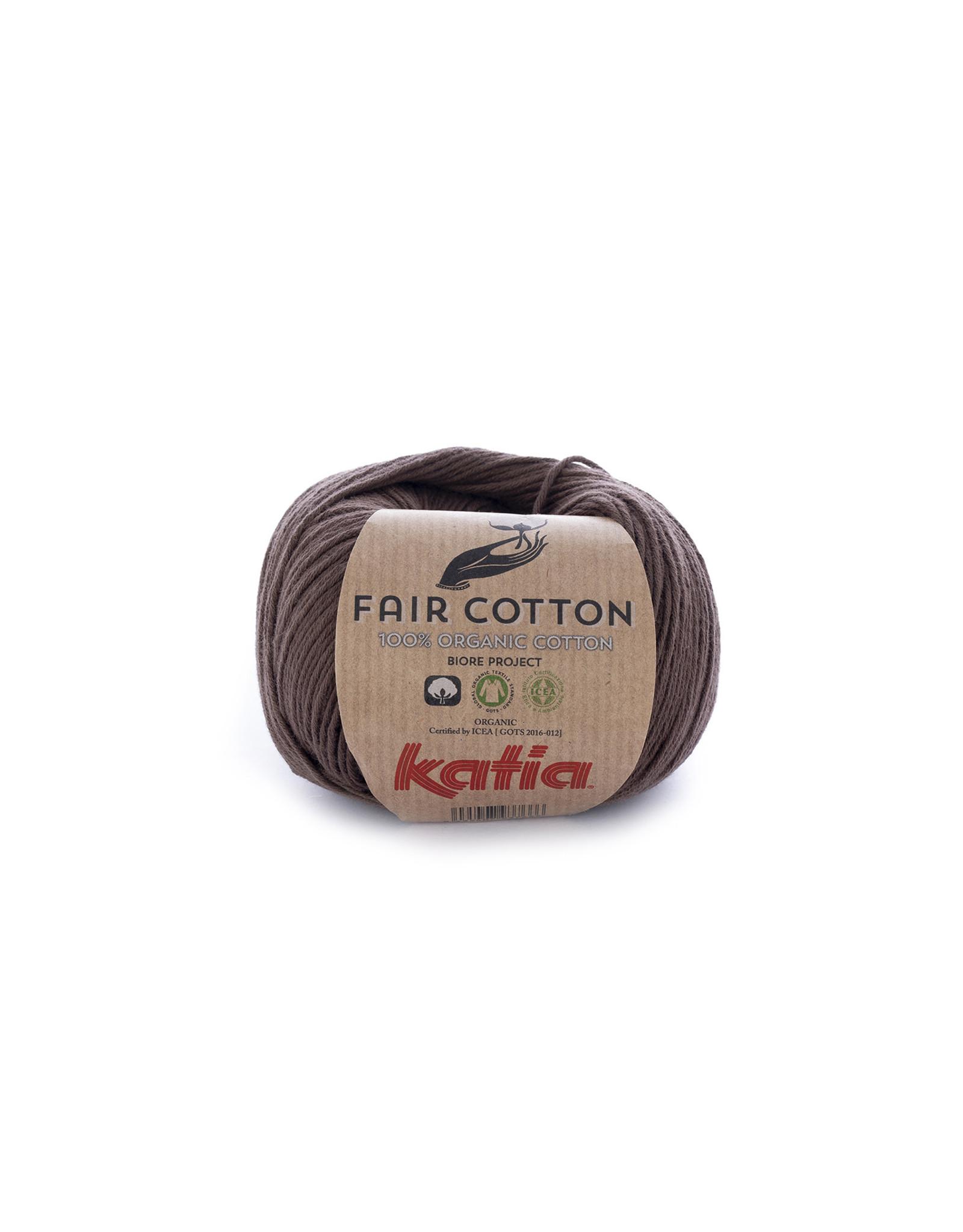 Katia Katia Fair Cotton  25 - bruin - - 50 gr. - 100% biol. katoen