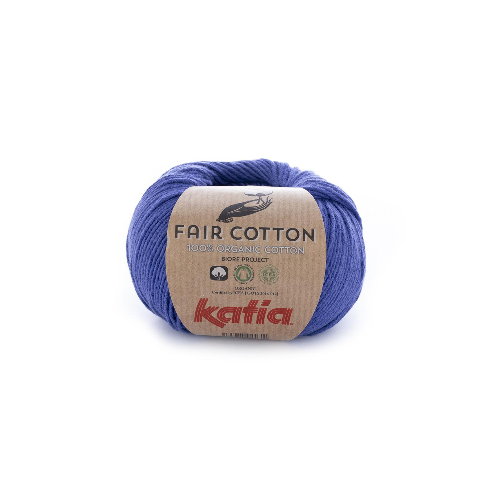 Katia Katia Fair Cotton 24 - nachtblauw - 1 bol = 50 gr. = 155 m. - 100% biol. katoen