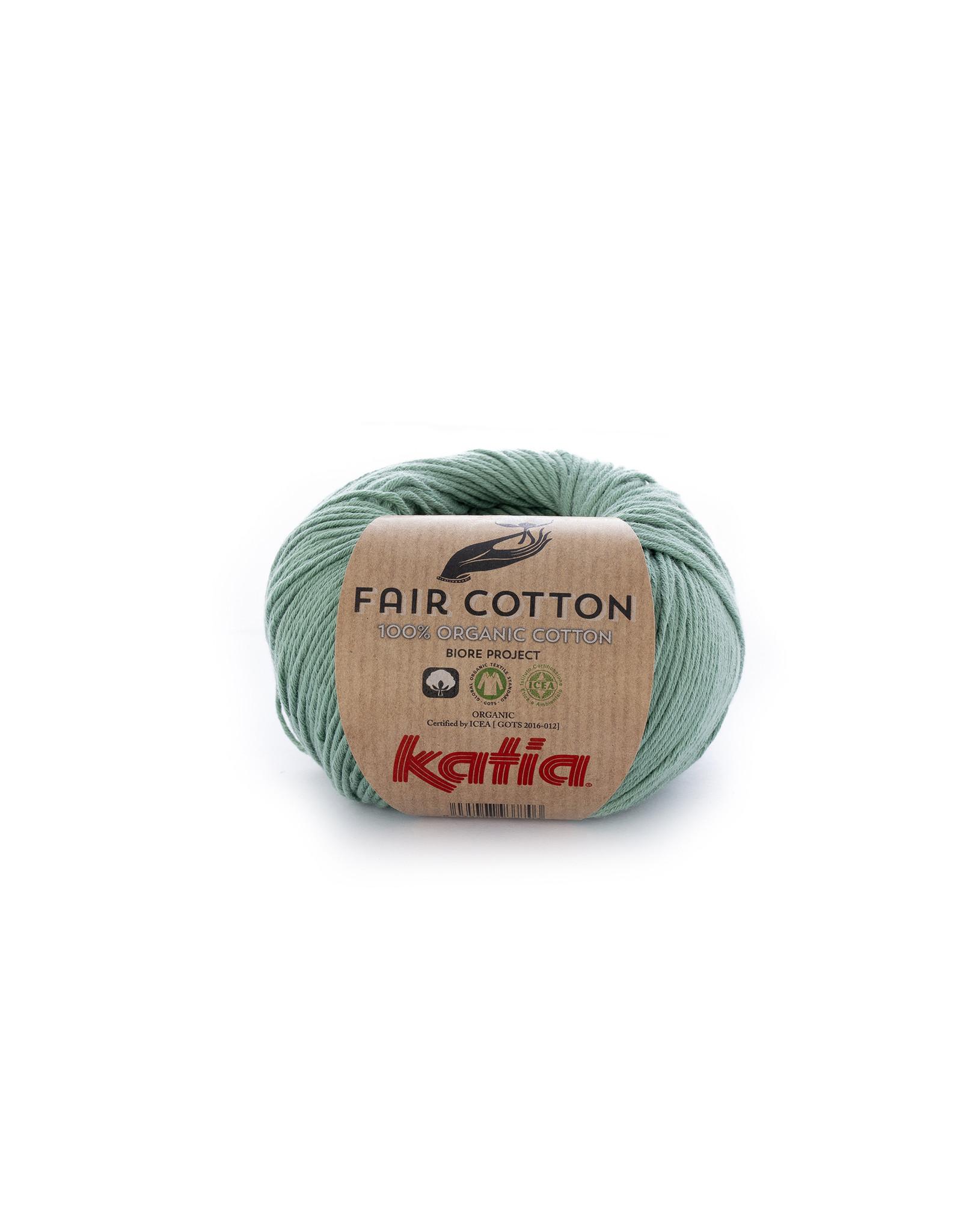 Katia Katia Fair Cotton  17 - mintgroen - - 50 gr. - 100% biol. katoen