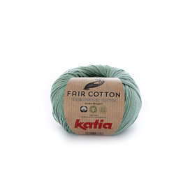 Katia Katia Fair Cotton 17 - mintgroen - 50 gr.
