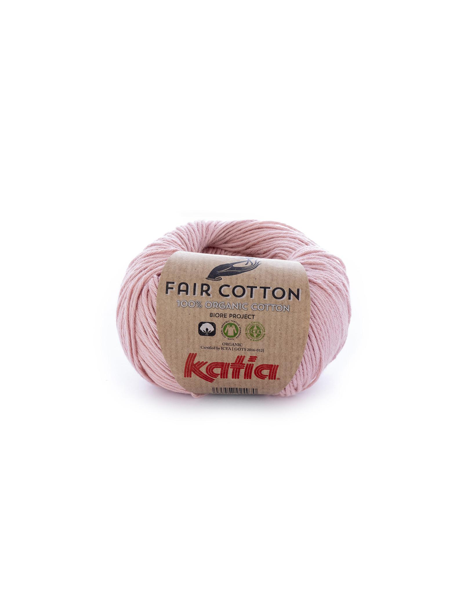 Katia Katia Fair Cotton 13 - lichtroze - 50 gr. - 100% biol. katoen