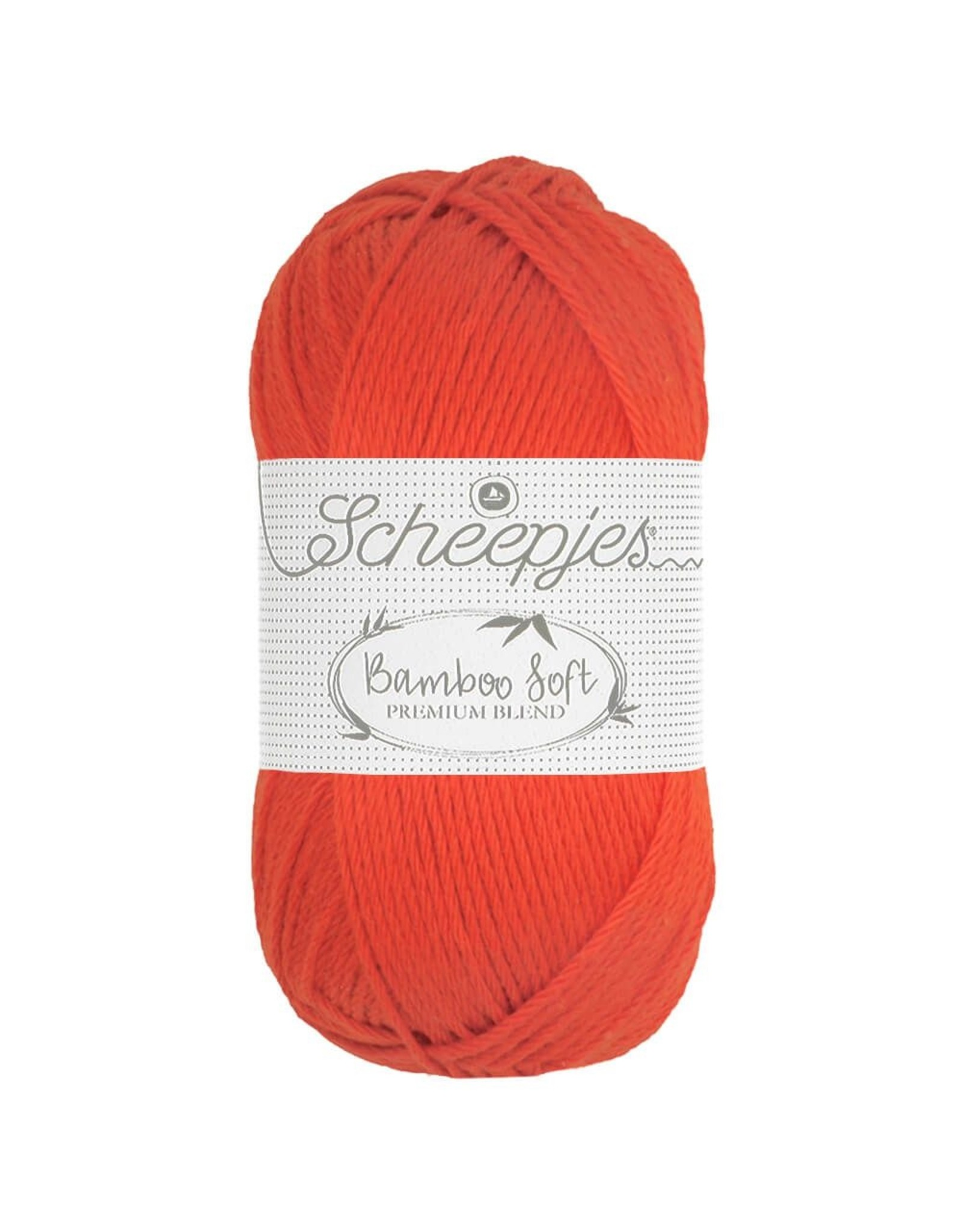Scheepjes Scheepjes Bamboo Soft kleur 261 Regal Orange bundel 5 bollen x 50 gr.