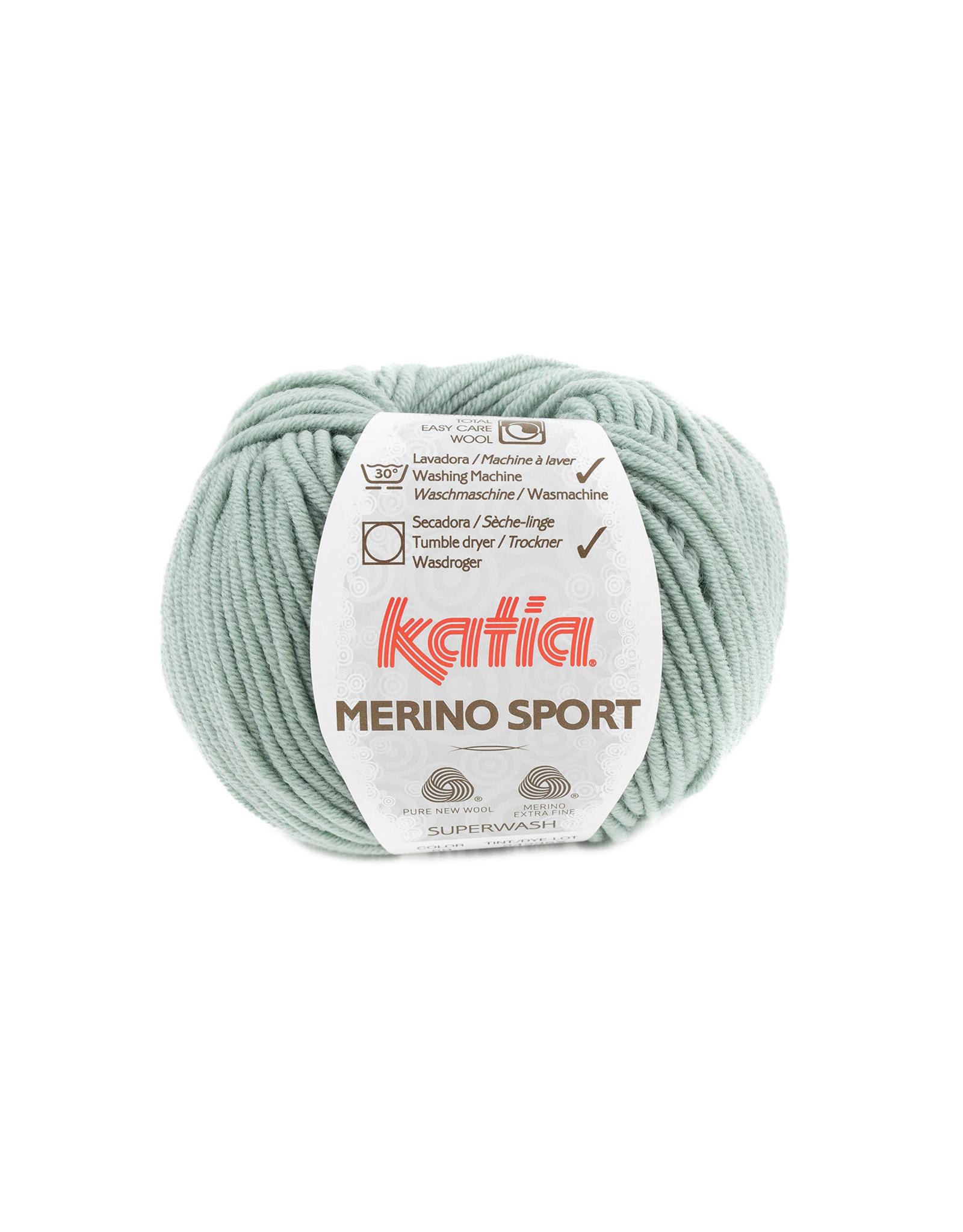 Katia Katia - Merino Sport - 59 Resedagroen - bundel 5 x 50 gr.