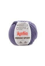 Katia Katia - Merino Sport - 58 Lila - bundel 5 x 50 gr.