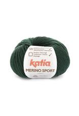 Katia Katia - Merino Sport - 54 Flessegroen - bundel 5 x 50 gr.