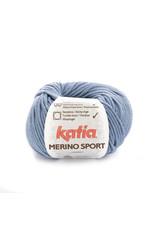 Katia Katia - Merino Sport - 48 Blauw - bundel 5 x 50 gr.