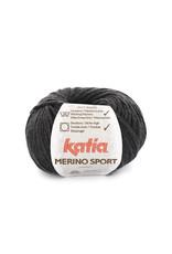 Katia Katia - Merino Sport - 402 Zeer donker grijs - bundel 5 x 50 gr.