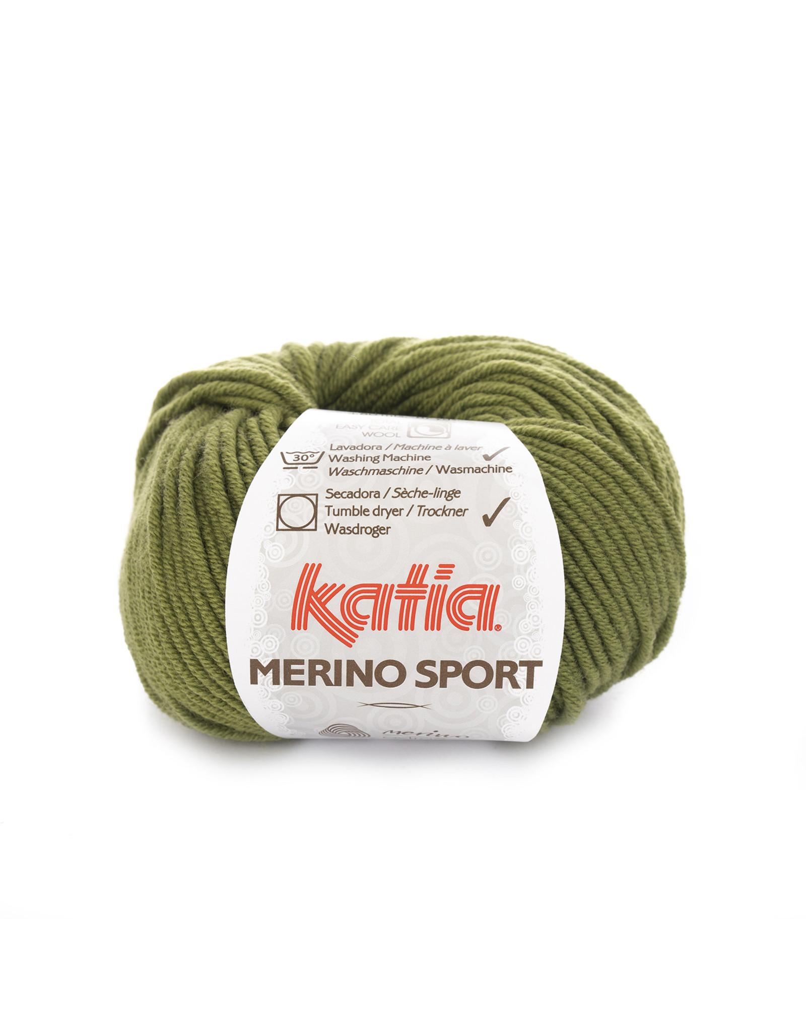 Katia Katia - Merino Sport - 16 Licht groen - bundel 5 x 50 gr.