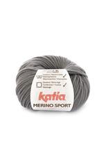 Katia Katia - Merino Sport - 11 Donker grijs - bundel 5 x 50 gr.