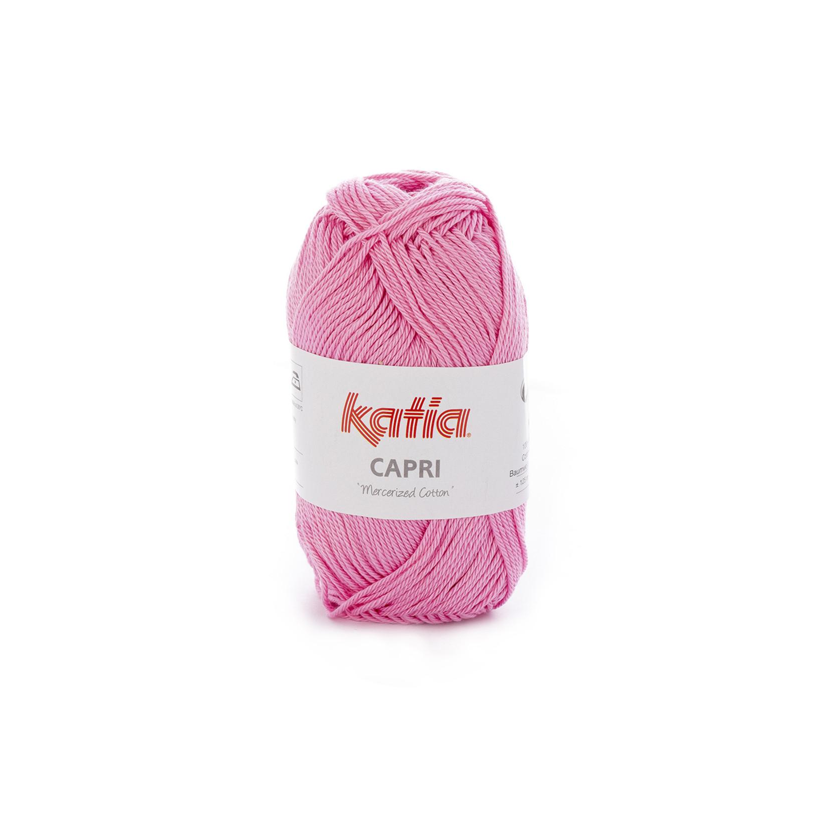 Katia Katia Capri - kleur 100 Bleekrood - 50 gr. = 125 m. - 100% katoen
