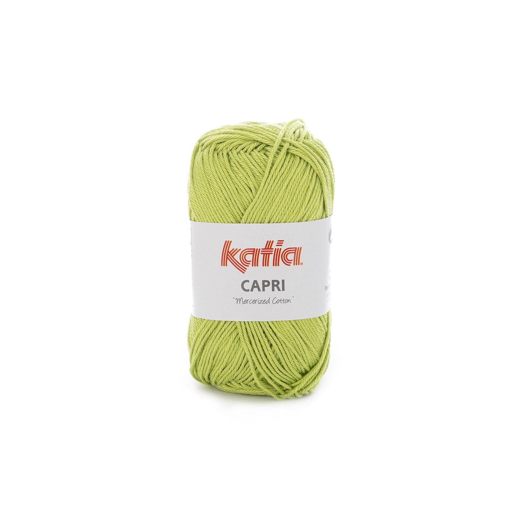 Katia Katia Capri - kleur 105 Pistache - 50 gr. = 125 m. - 100% katoen