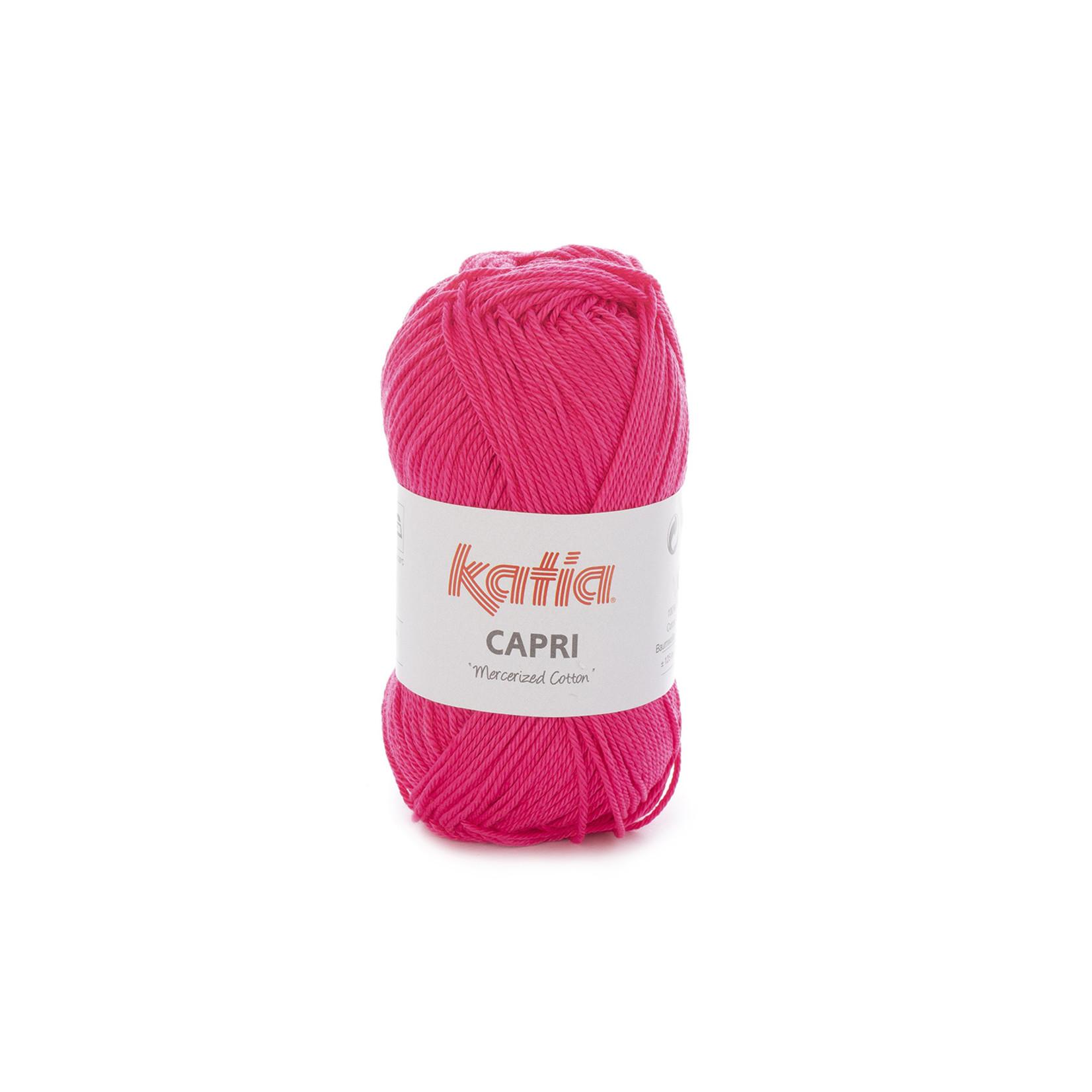 Katia Katia Capri - kleur 115 Fuchsia - 50 gr. = 125 m. - 100% katoen
