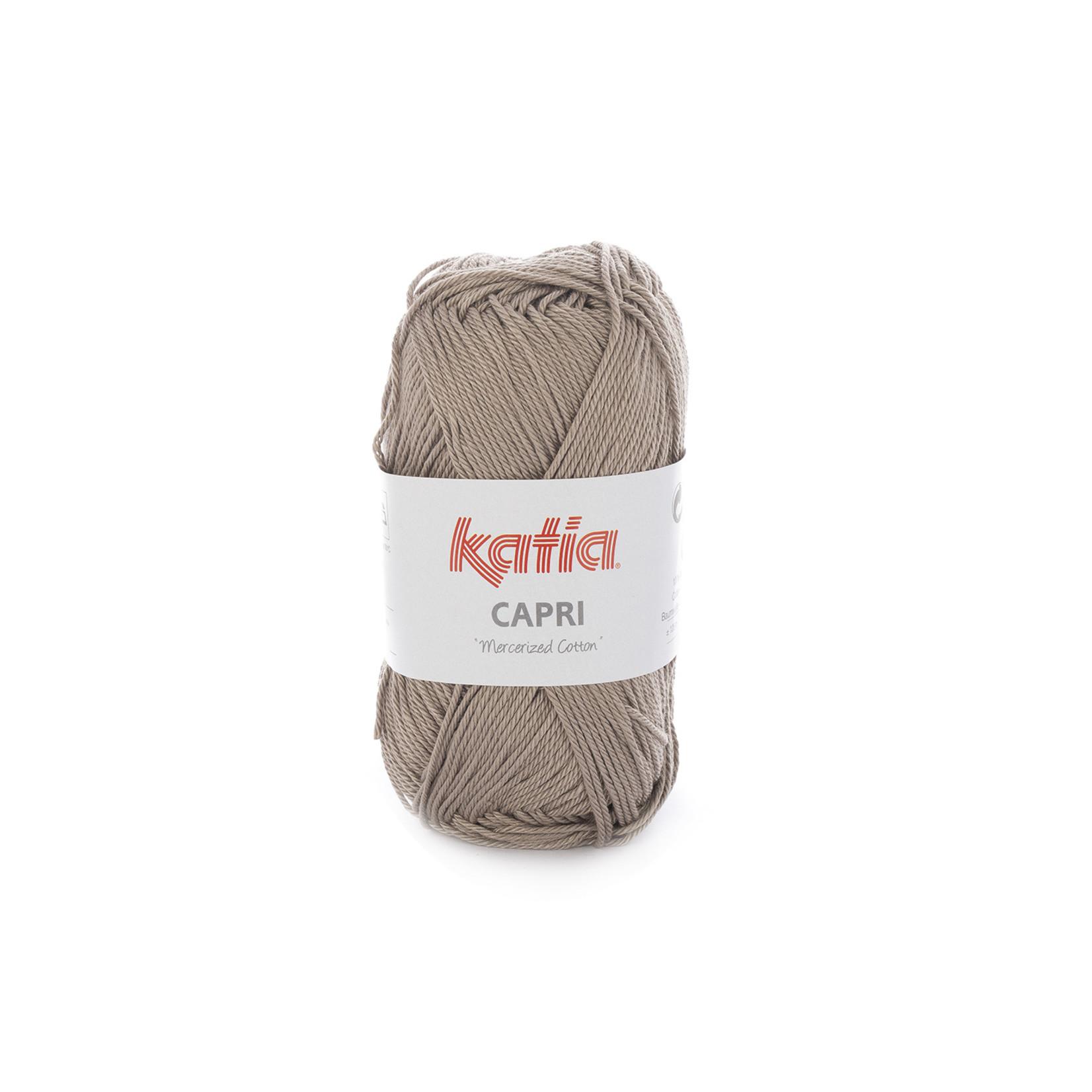 Katia Katia Capri - kleur 126 Kaki - 50 gr. = 125 m. - 100% katoen