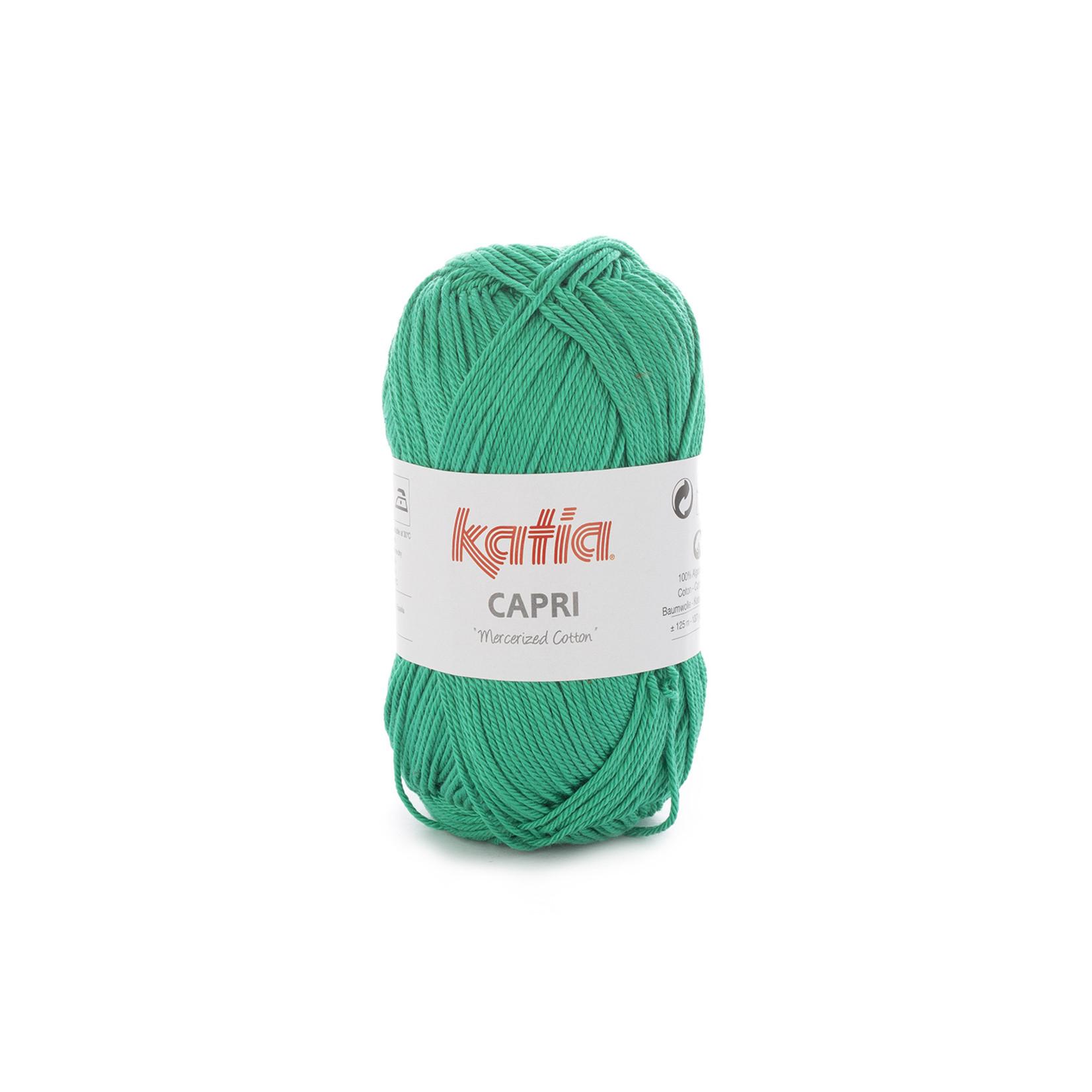 Katia Katia Capri - kleur 130 Groen - 50 gr. = 125 m. - 100% katoen
