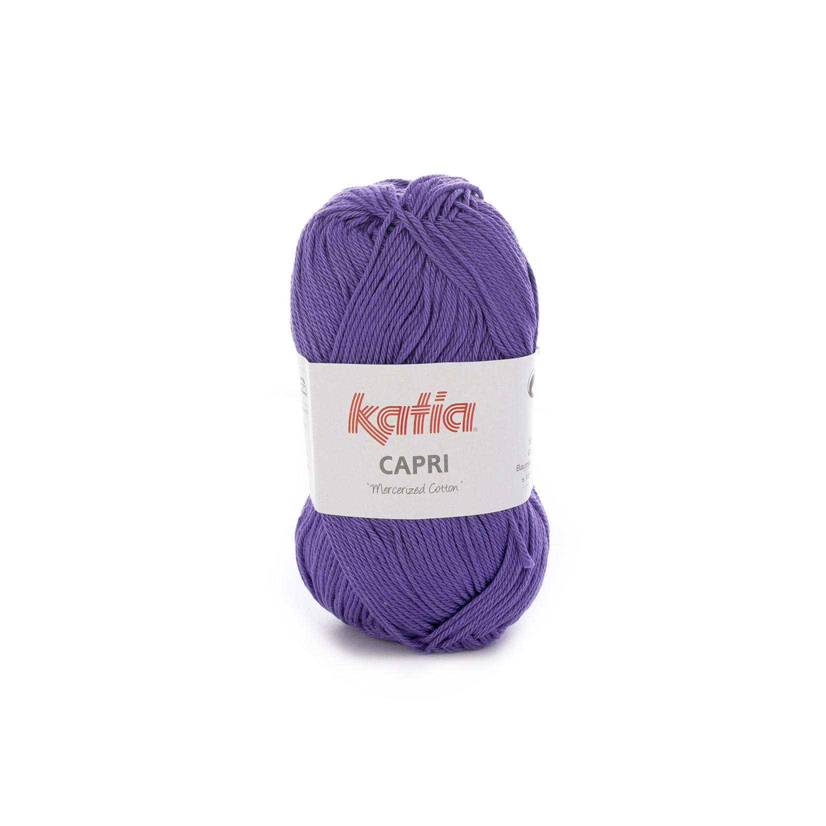 Katia Katia Capri - kleur 131 Donkerlila - 50 gr. = 125 m. - 100% katoen