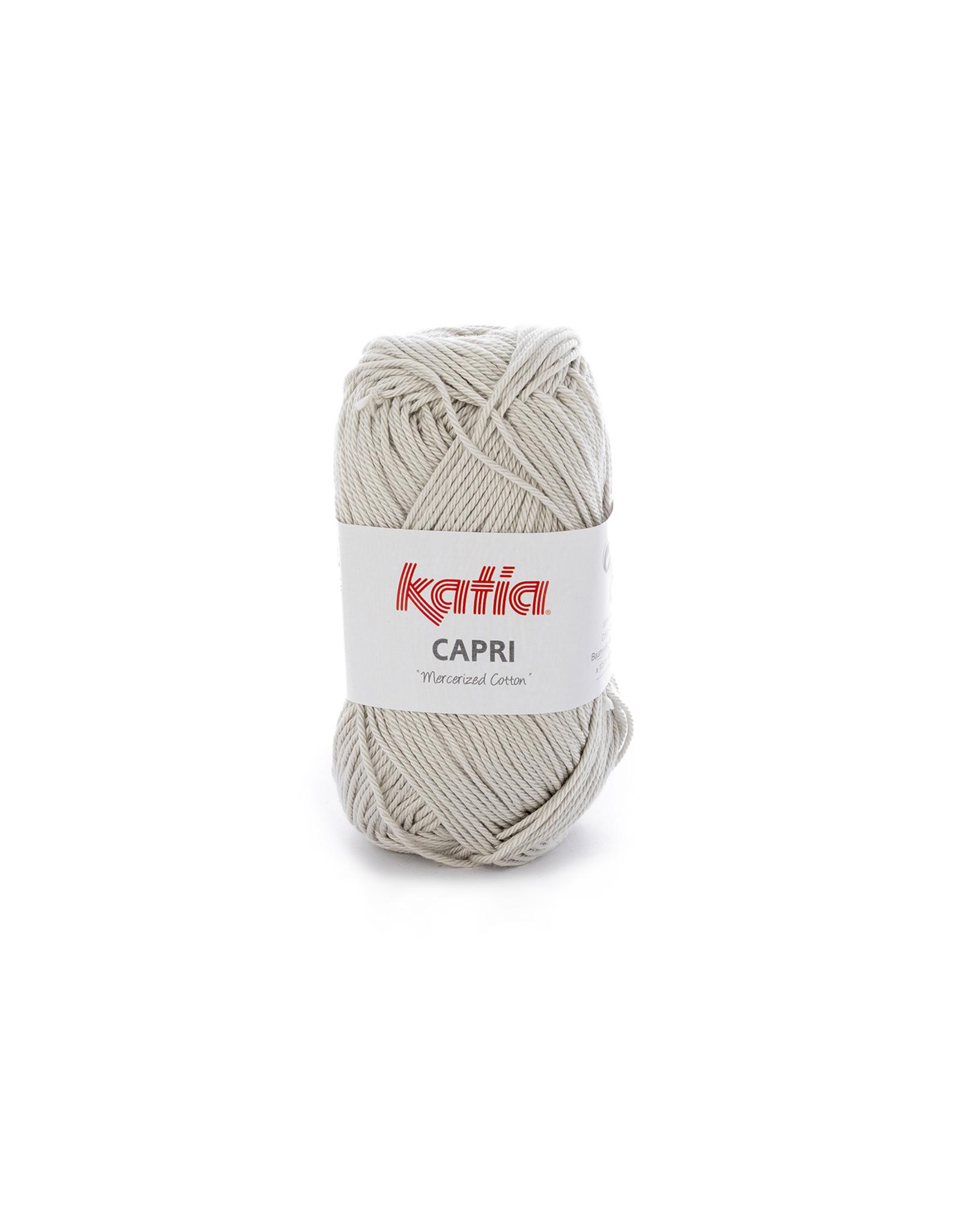 Katia Katia Capri - kleur 135 Zeer licht grijs - 50 gr. = 125 m. - 100% katoen