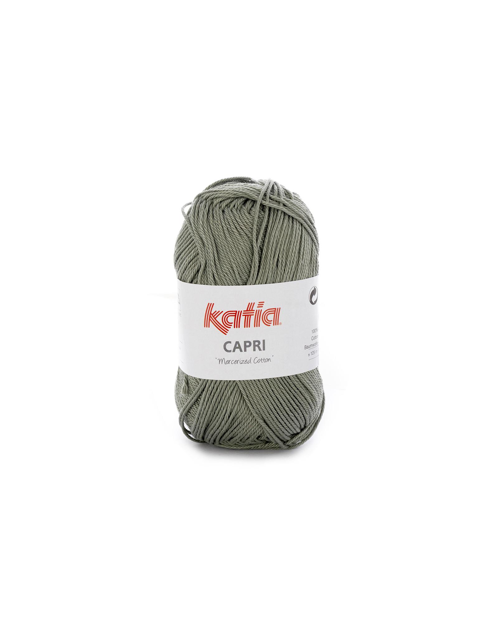 Katia Katia Capri - kleur 137 Medium groen - 50 gr. = 125 m. - 100% katoen