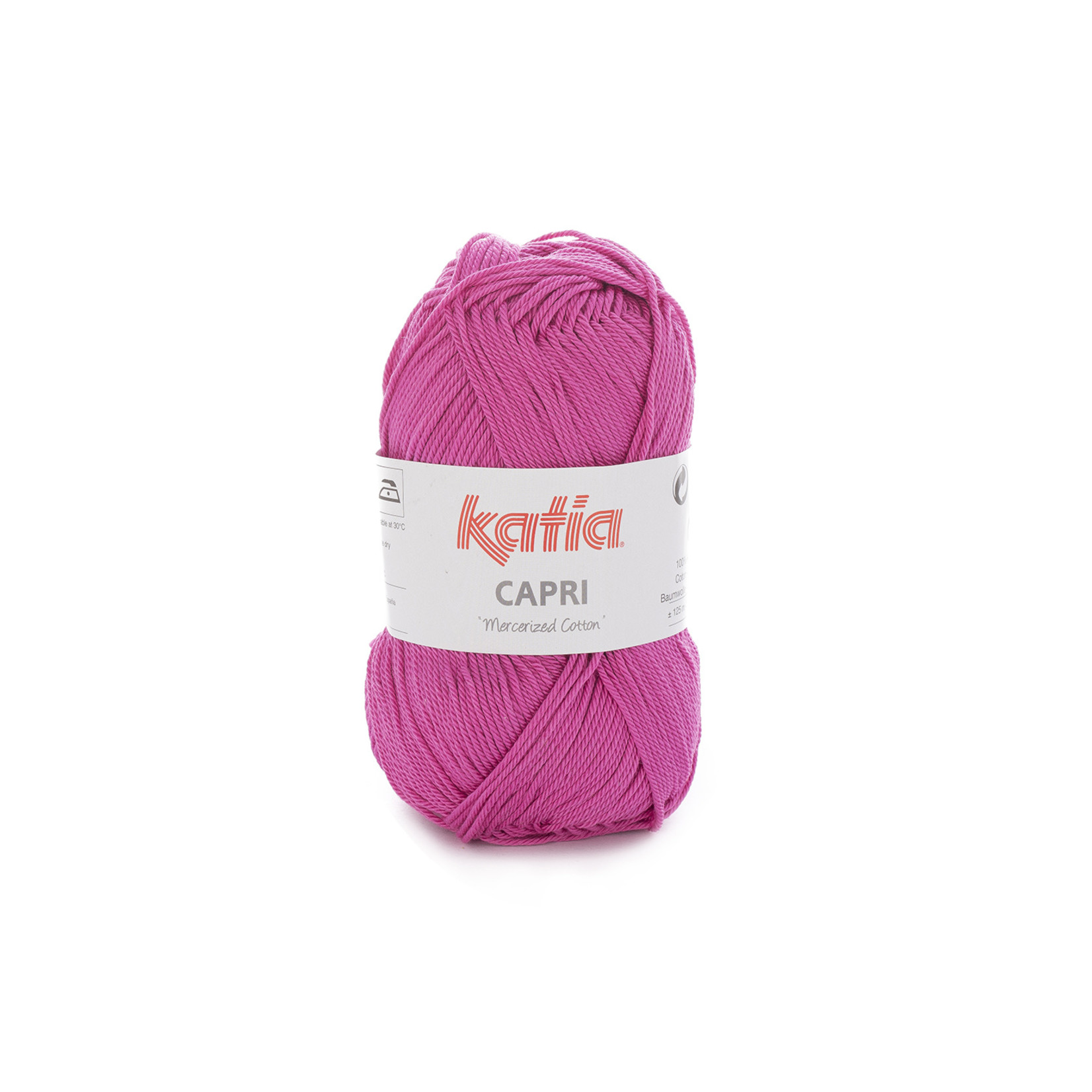 Katia Katia Capri - kleur 138 Licht fuchsia - 50 gr. = 125 m. - 100% katoen