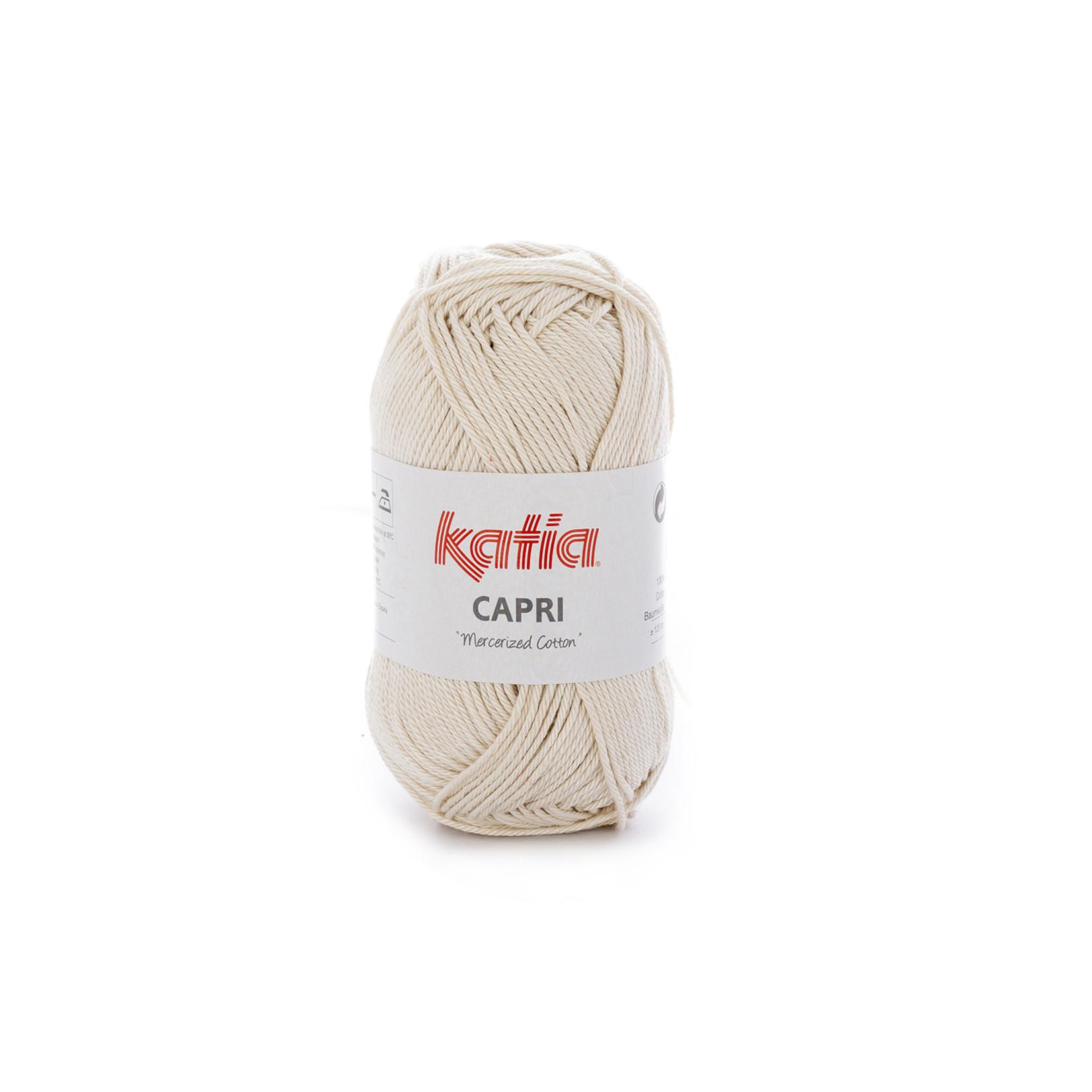 Katia Katia Capri - kleur 141 Zeer licht beige - 50 gr. = 125 m. - 100% katoen