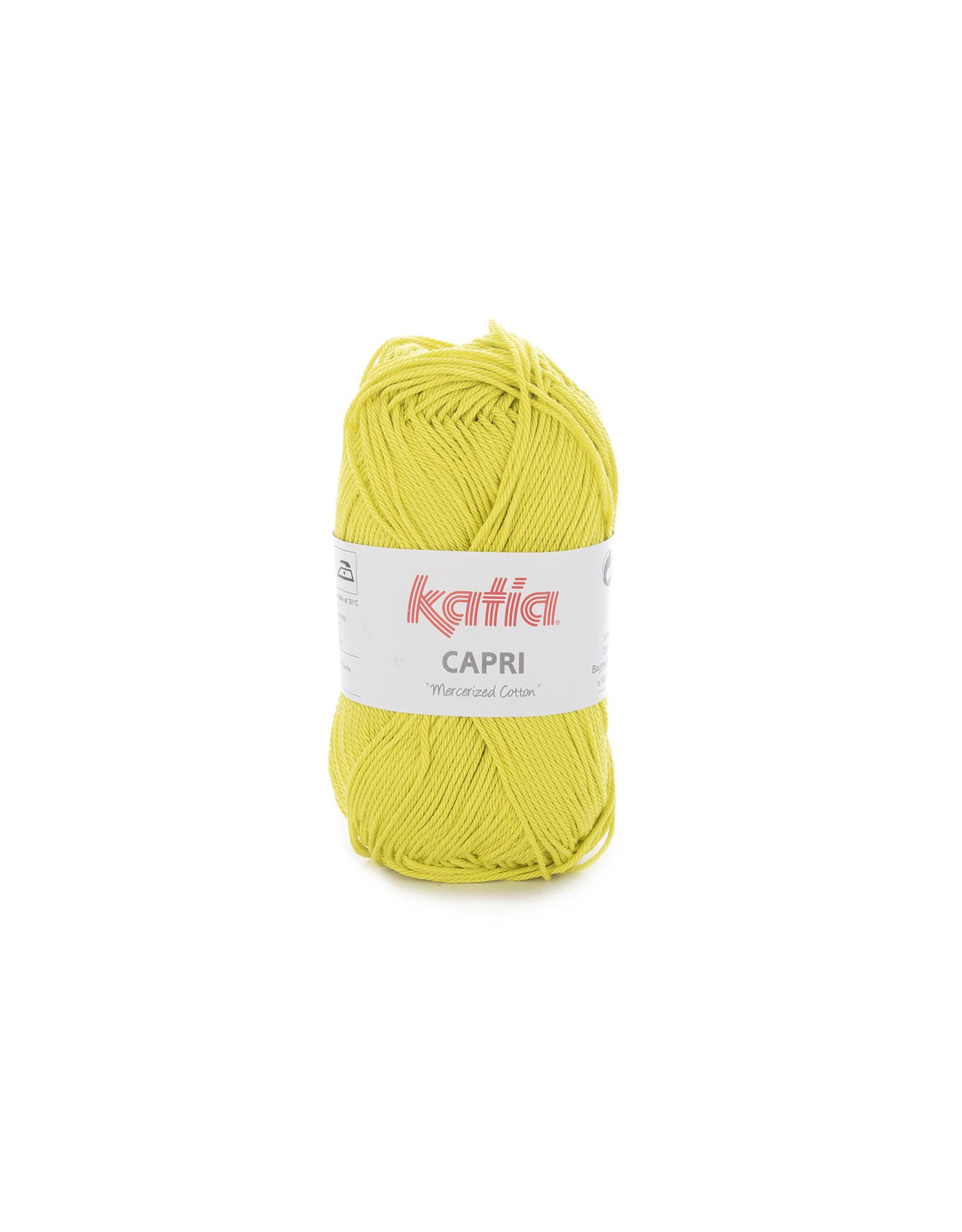 Katia Katia Capri - kleur 142 Licht pistache - 50 gr. = 125 m. - 100% katoen