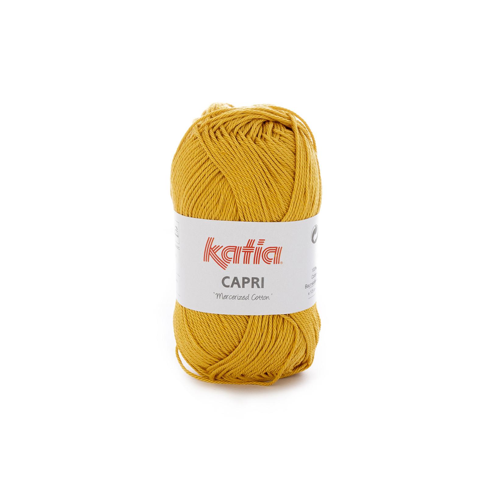 Katia Katia Capri - kleur 144 Mosterdgeel - 50 gr. = 125 m. - 100% katoen