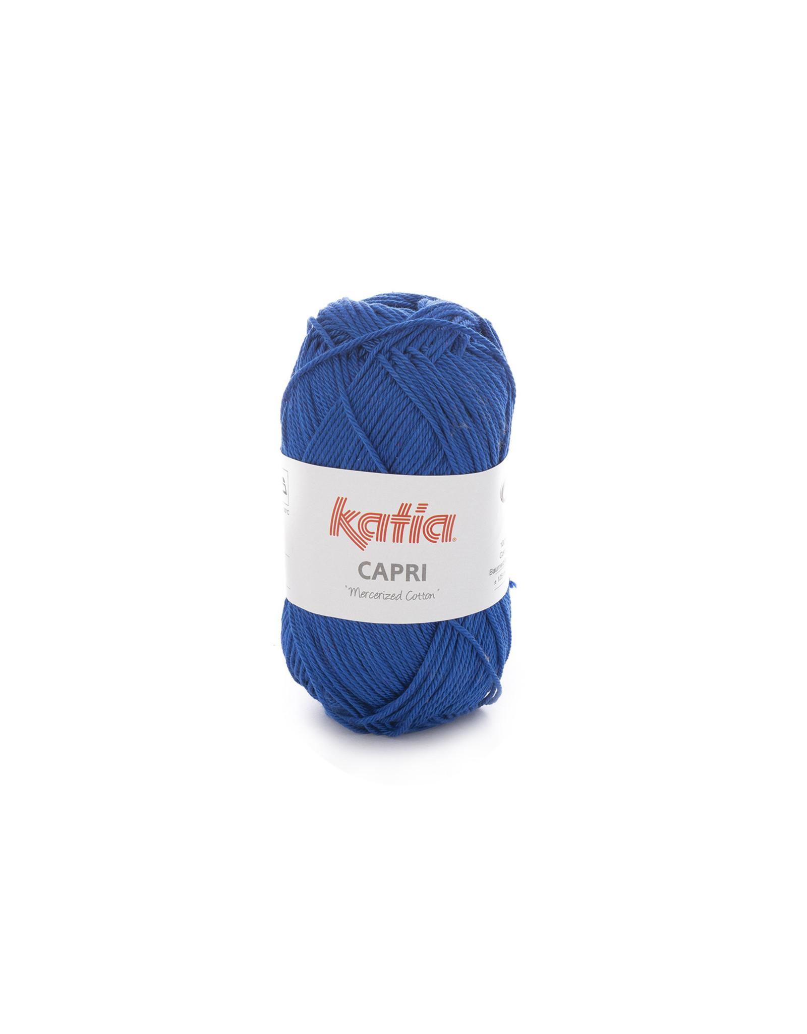 Katia Katia Capri - kleur 146 Nachtblauw - 50 gr. = 125 m. - 100% katoen