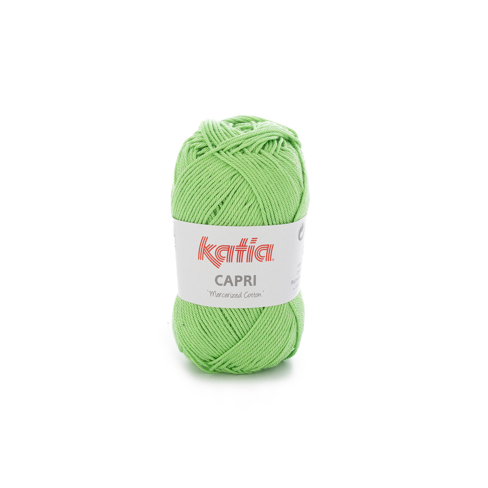 Katia Katia Capri - kleur 149 Briljantgroen - 50 gr. = 125 m. - 100% katoen