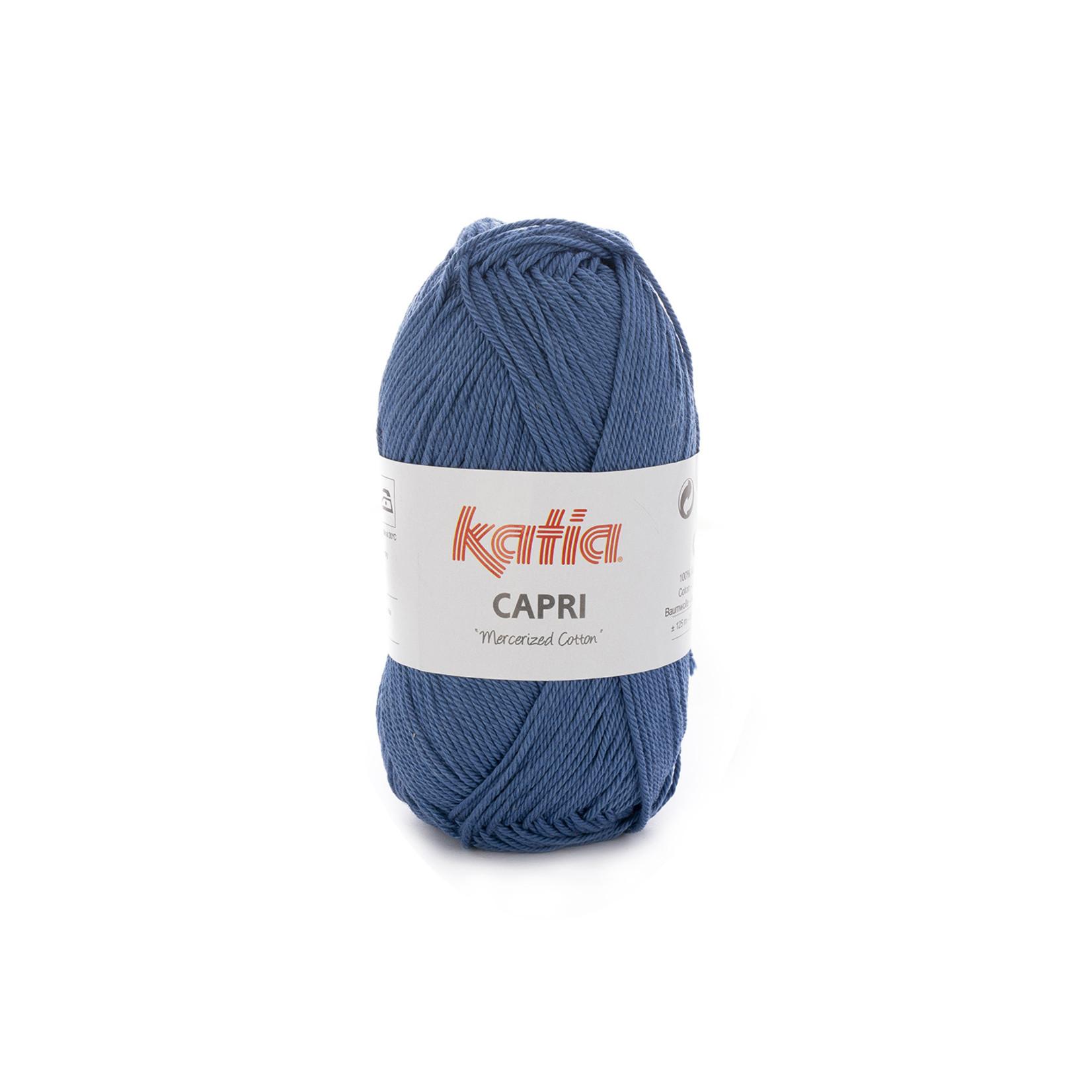 Katia Katia Capri - kleur 155 Medium blauw - 50 gr. = 125 m. - 100% katoen