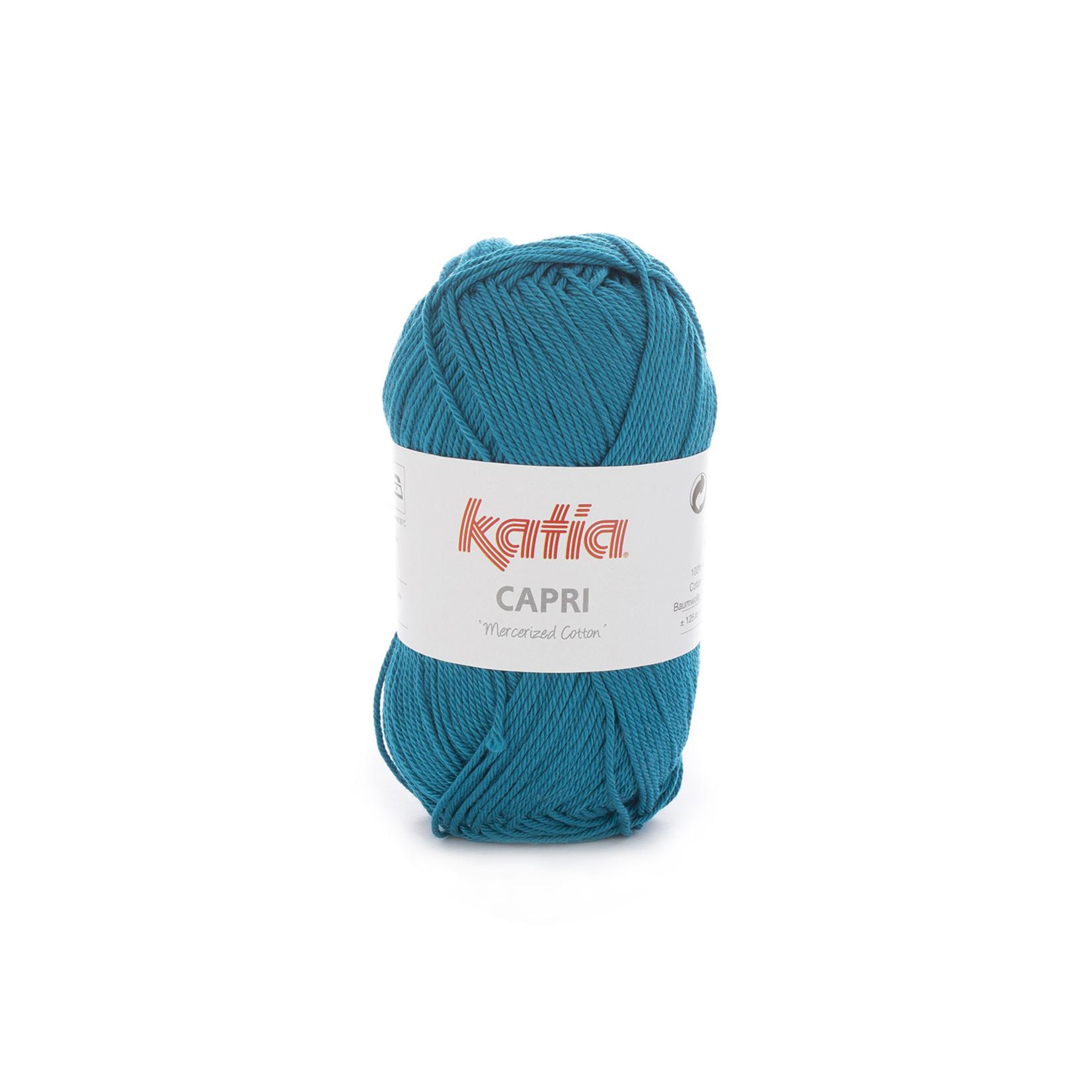 Katia Katia Capri - kleur 161 Groenblauw - 50 gr. = 125 m. - 100% katoen