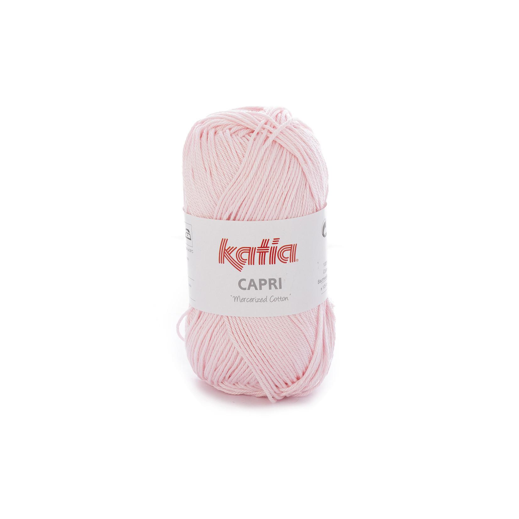 Katia Katia Capri - kleur 169 Lichtroze - 50 gr. = 125 m. - 100% katoen