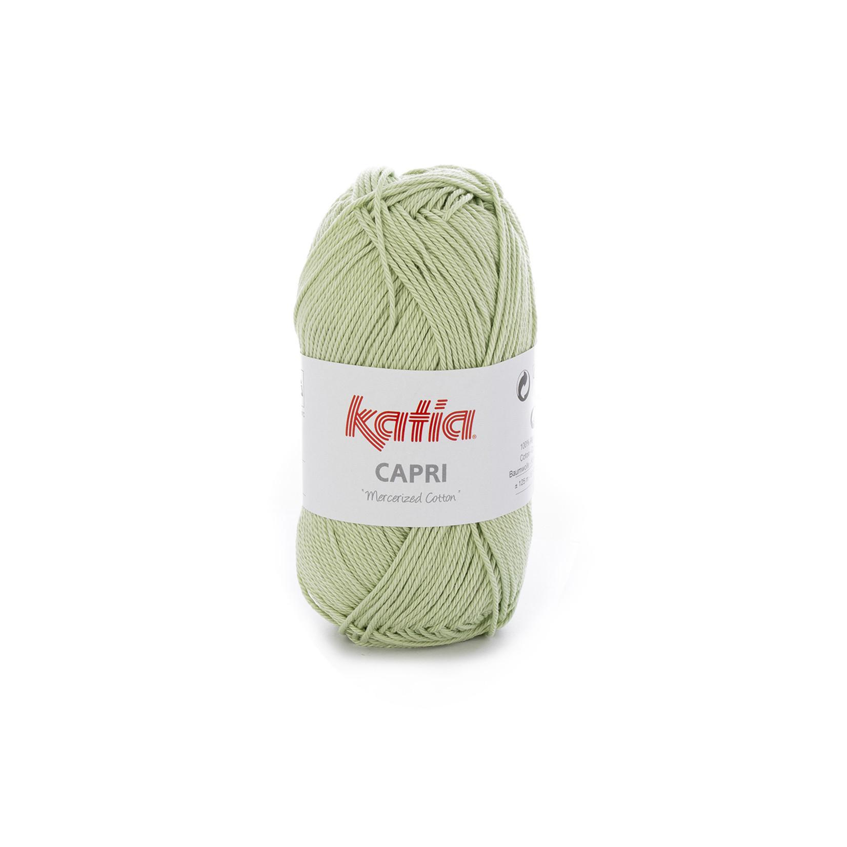 Katia Katia Capri - kleur 170 Licht groen - 50 gr. = 125 m. - 100% katoen