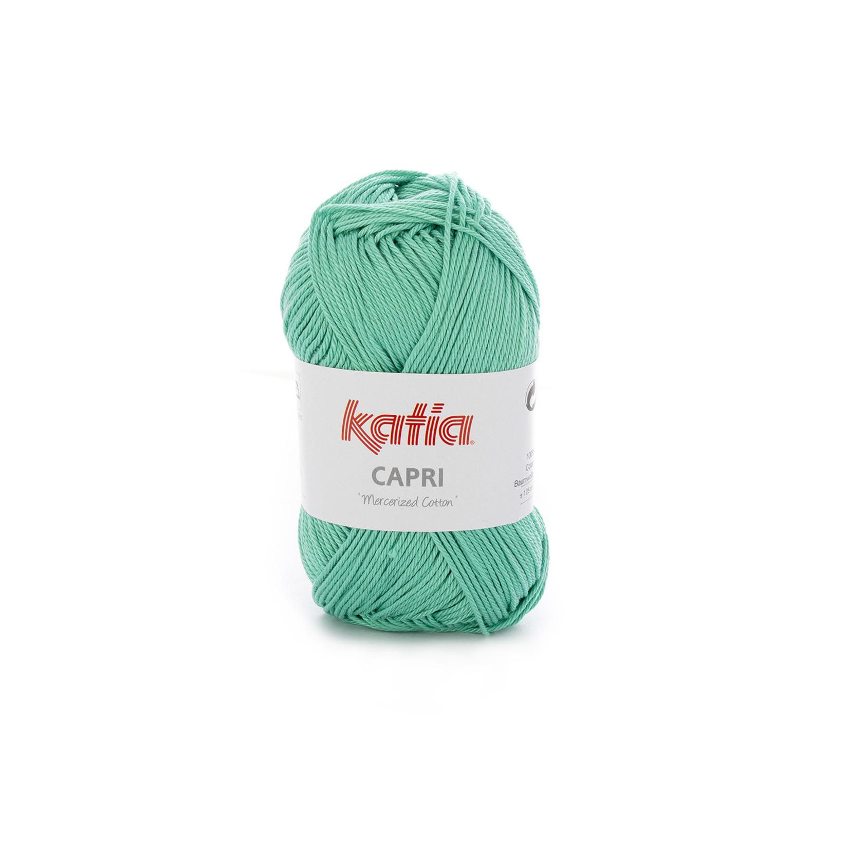 Katia Katia Capri - kleur 171 Mintgroen - 50 gr. = 125 m. - 100% katoen