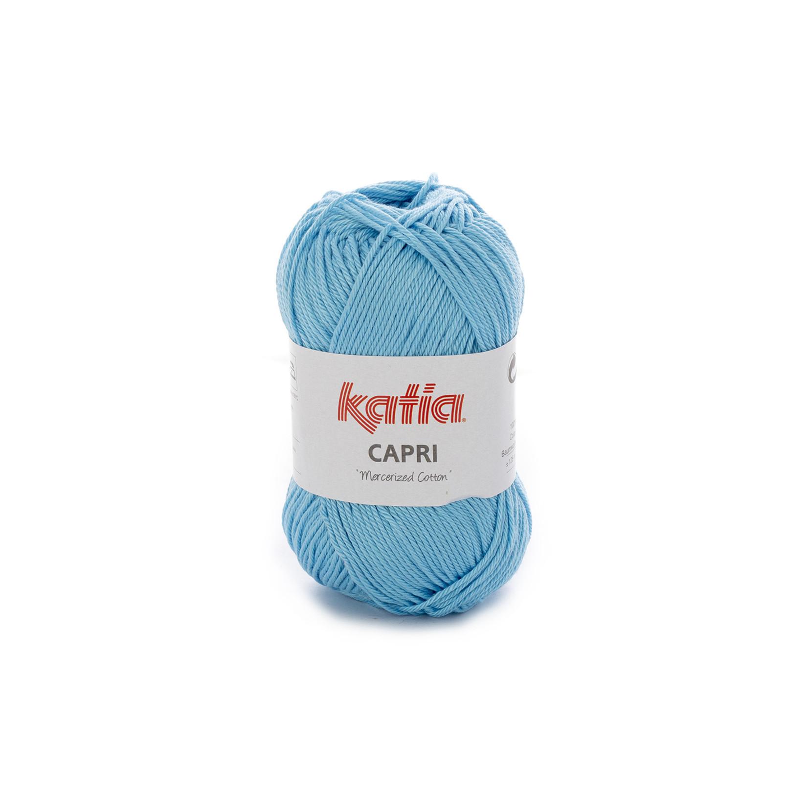 Katia Katia Capri - kleur 97 Licht blauw - 50 gr. = 125 m. - 100% katoen
