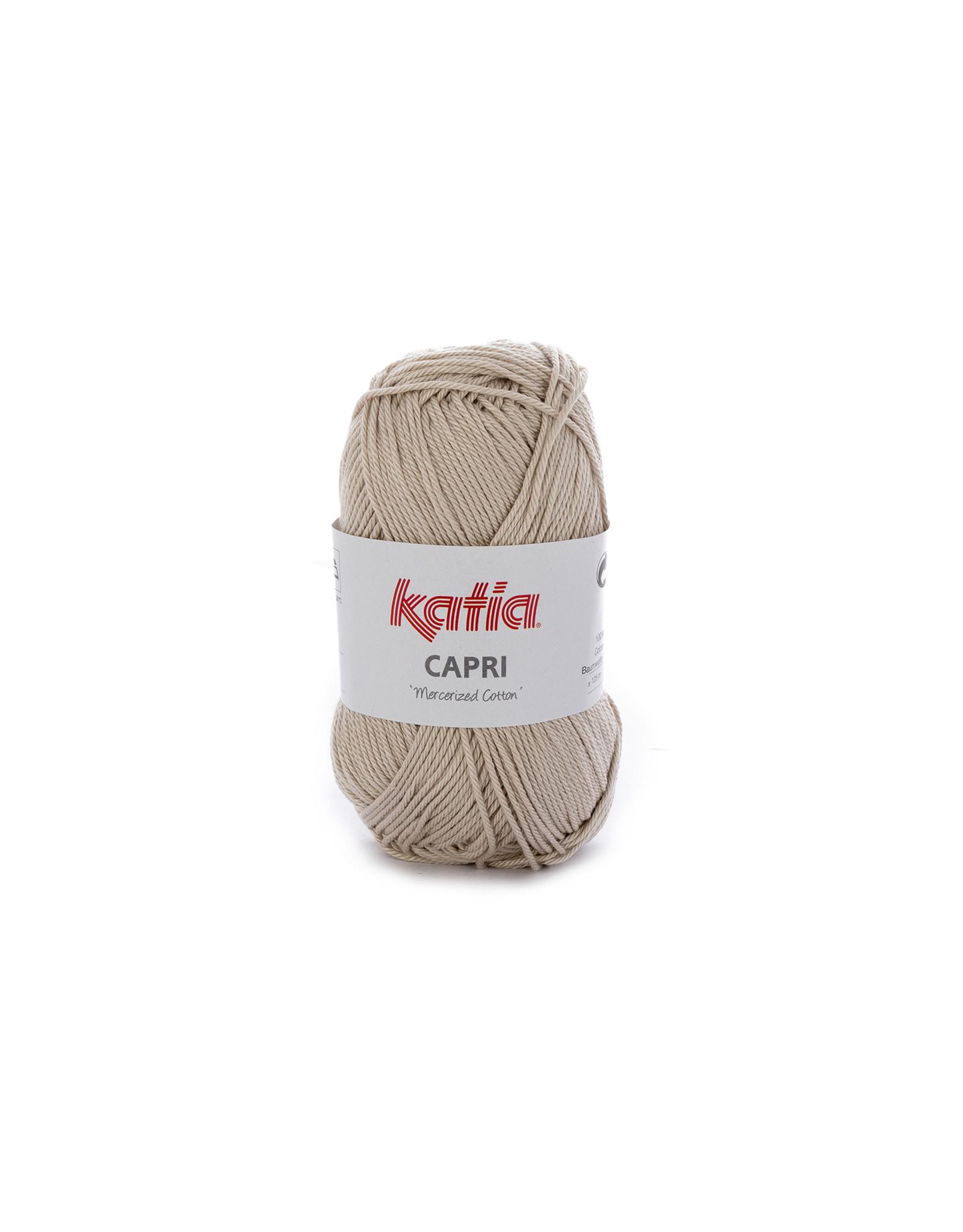 Katia Katia Capri - kleur 67 Licht beige - 50 gr. = 125 m. - 100% katoen