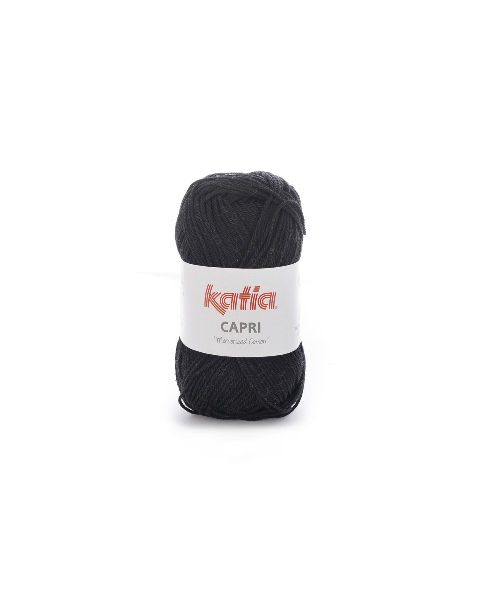 Katia Katia Capri - kleur 56 Zwart - 50 gr. = 125 m. - 100% katoen