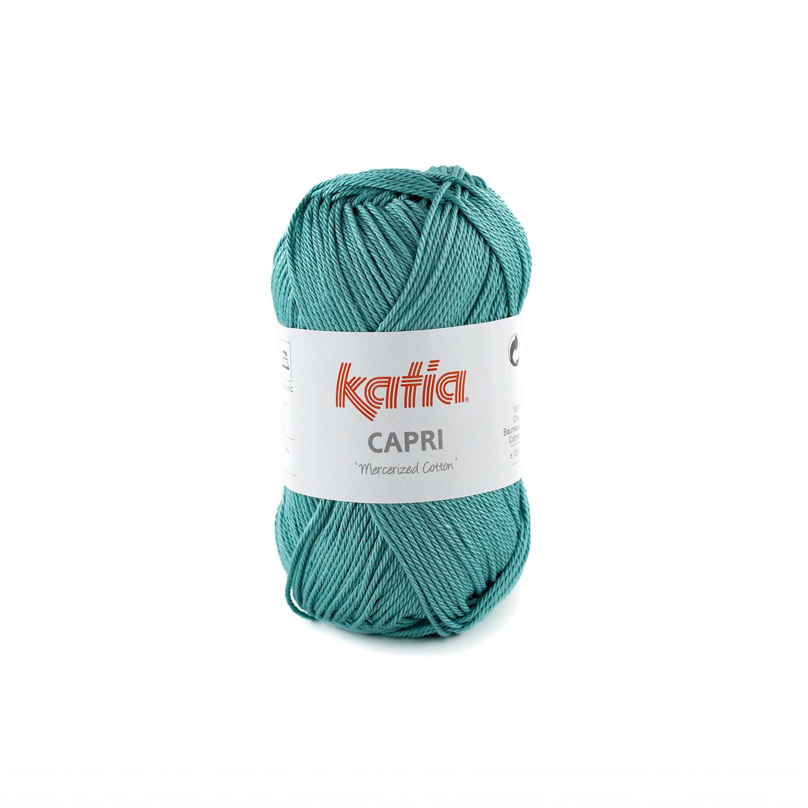 Katia Katia Capri - kleur 173 Turkooisblauw - 50 gr. = 125 m. - 100% katoen