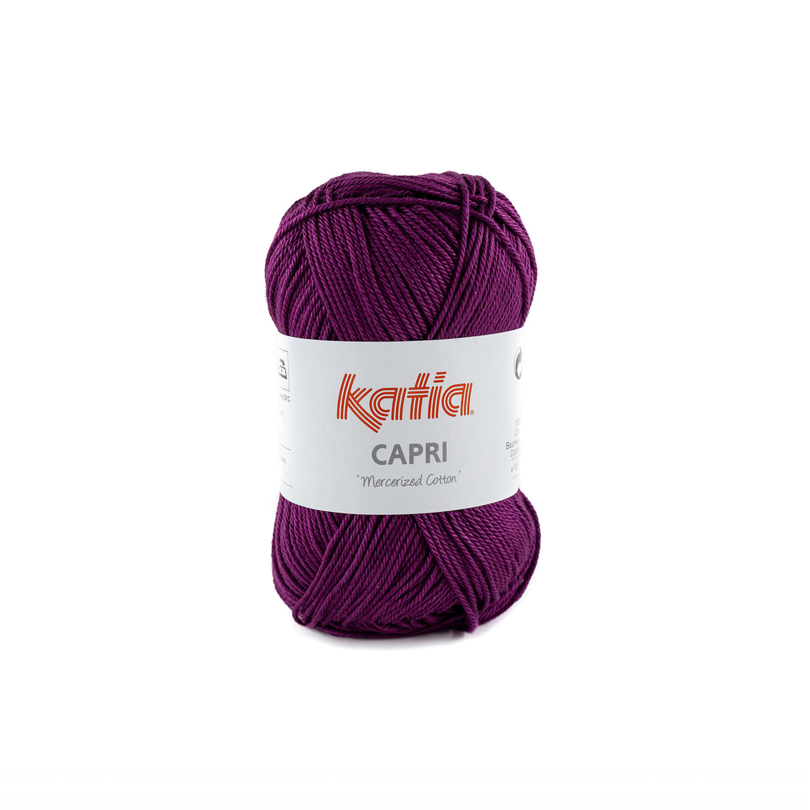 Katia Katia Capri - kleur 172 Parelmoer-lichtviolet - 50 gr. = 125 m. - 100% katoen