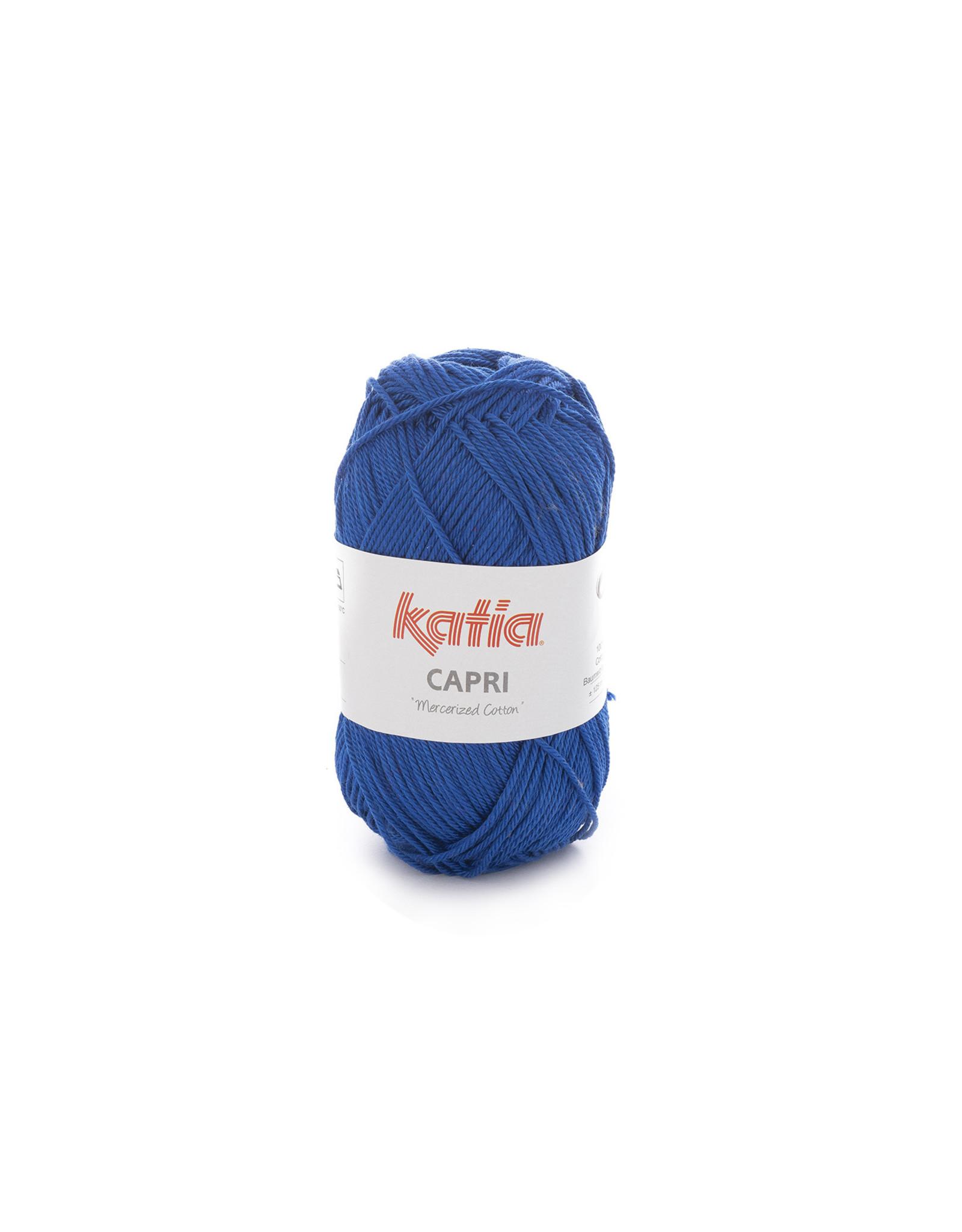 Katia Katia Capri - kleur 146 Nachtblauw - bundel 5 x 50 gr. / 125 m. - 100% katoen