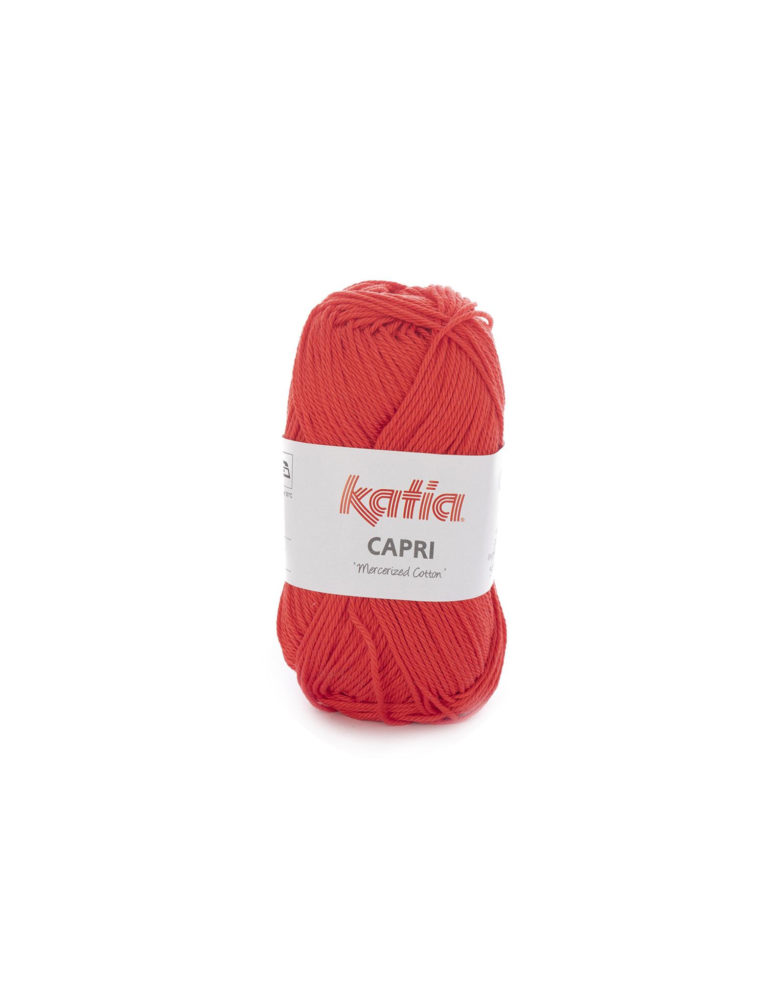 Katia Katia Capri - kleur 164 Koraal - bundel 5 x 50 gr. / 125 m. - 100% katoen