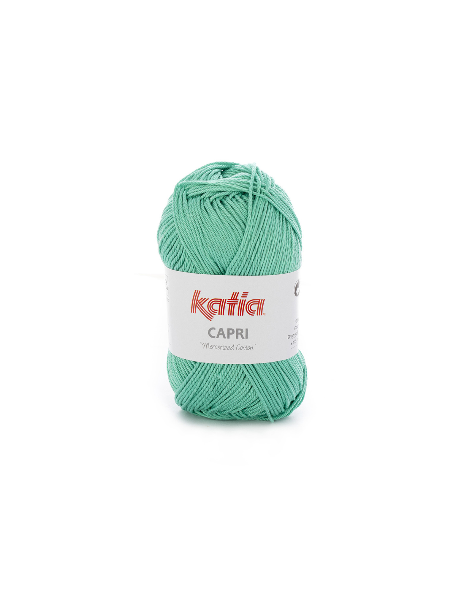Katia Katia Capri - kleur 171 Mintgroen - bundel 5 x 50 gr. / 125 m. - 100% katoen