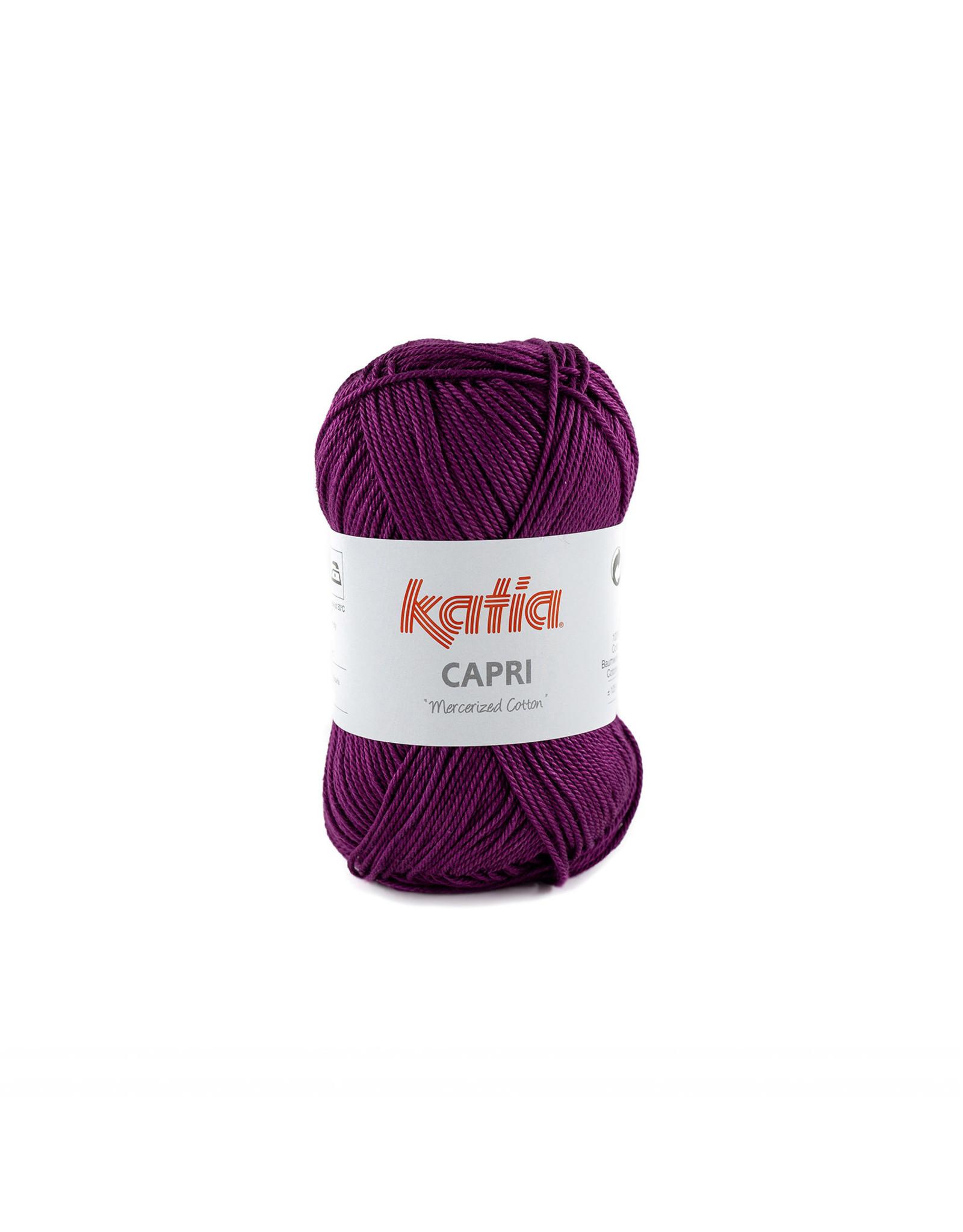 Katia Katia Capri - kleur 172 Parelmoer-lichtviolet - bundel 5 x 50 gr. / 125 m. - 100% katoen
