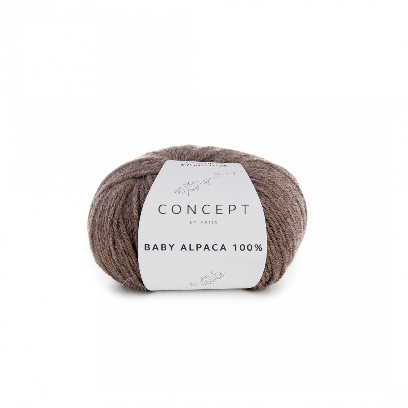Katia Baby Alpaca 100% - kleur 501 - Reebruin - 50 gr. = 125 m. - 100% Baby Alpaca