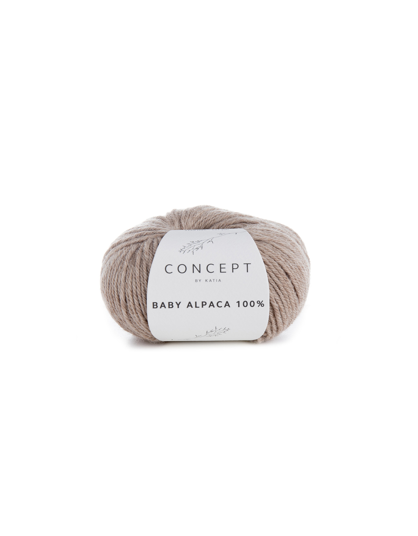 Katia Baby Alpaca 100% - kleur 502 - Steengrijs - 50 gr. = 125 m. - 100% Baby Alpaca