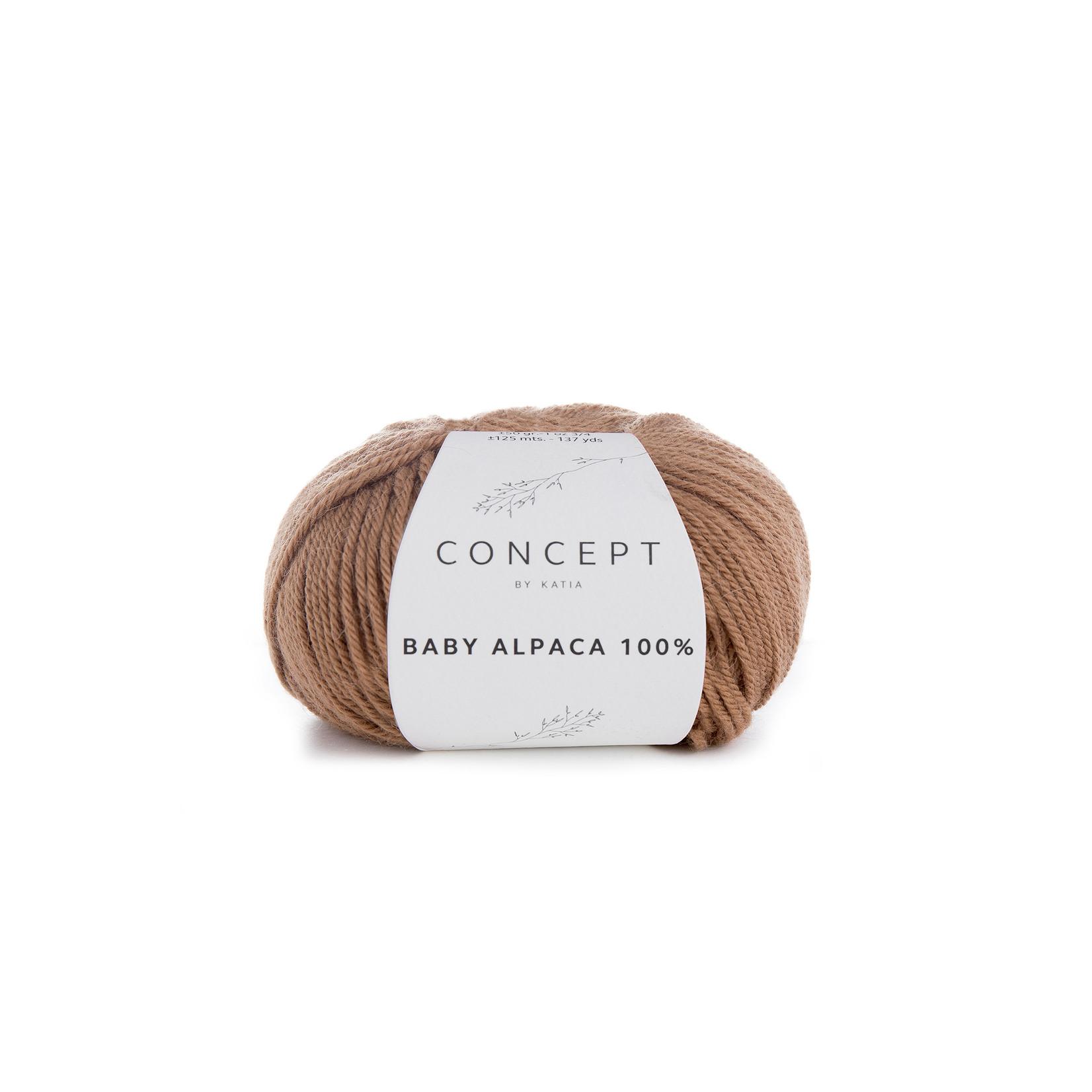Katia Baby Alpaca 100% - kleur 508 - Camel - 50 gr. = 125 m. - 100% Baby Alpaca