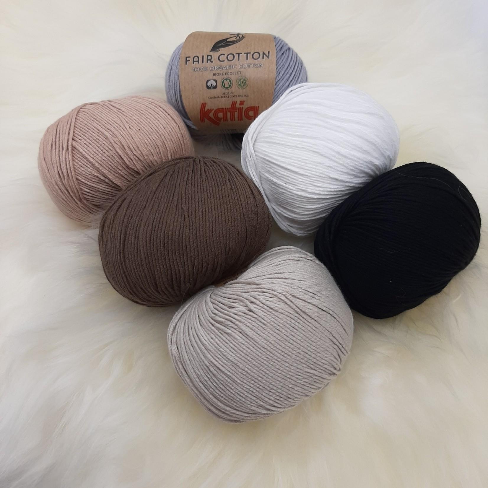 Katia Katia Fair Cotton - kleurenbundel Sahara - 6 x 50 gr. biol. katoen