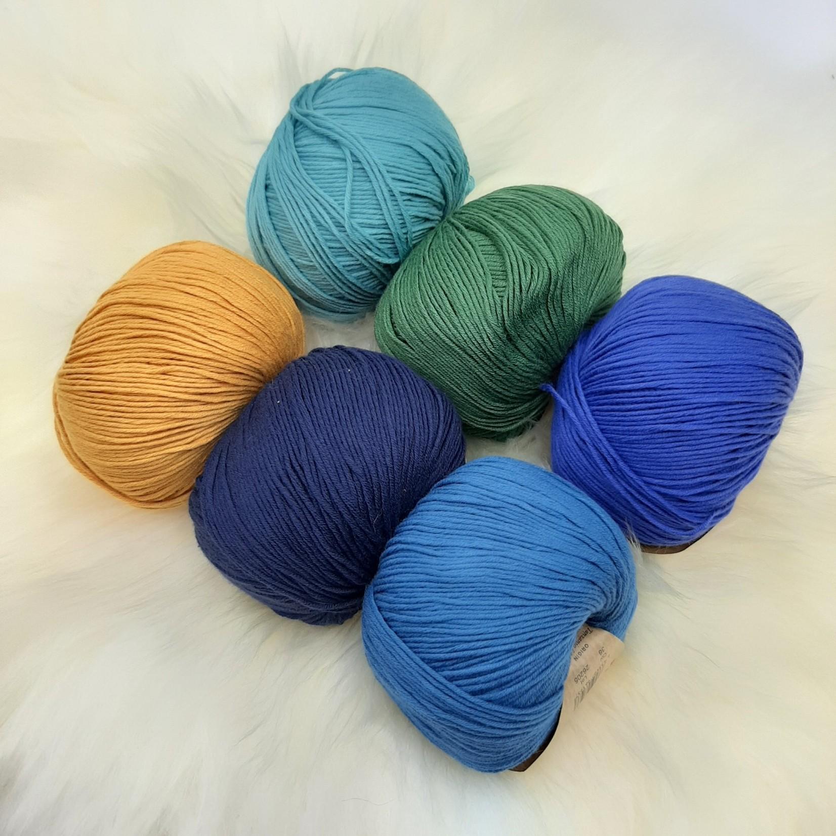 Katia Katia Fair Cotton - kleurenbundel Marokko- 6 x 50 gr. biol. katoen