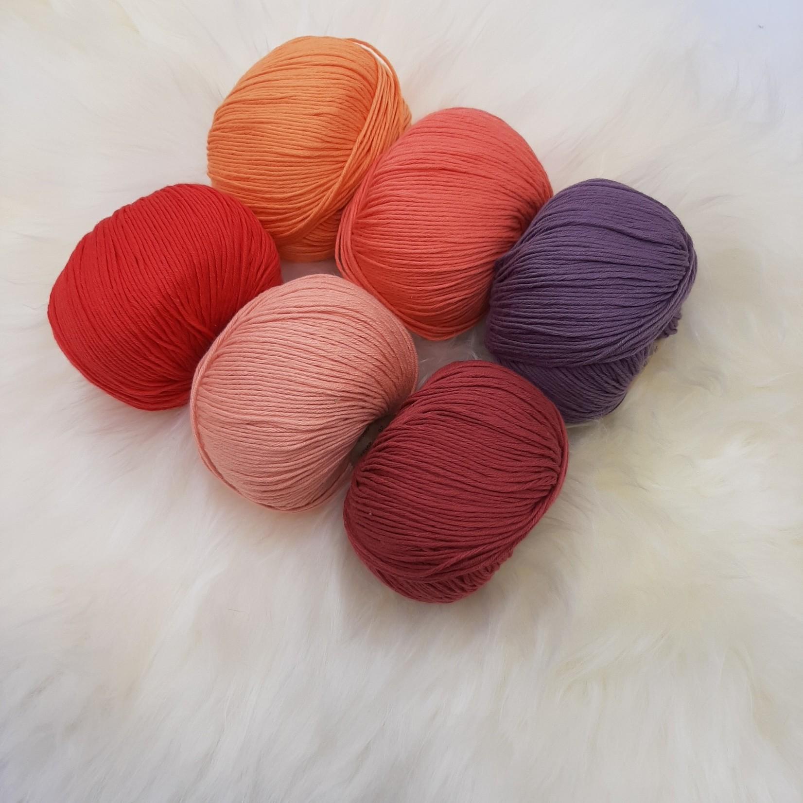 Katia Katia Fair Cotton - kleurenbundel Tulip- 6 x 50 gr. biol. katoen