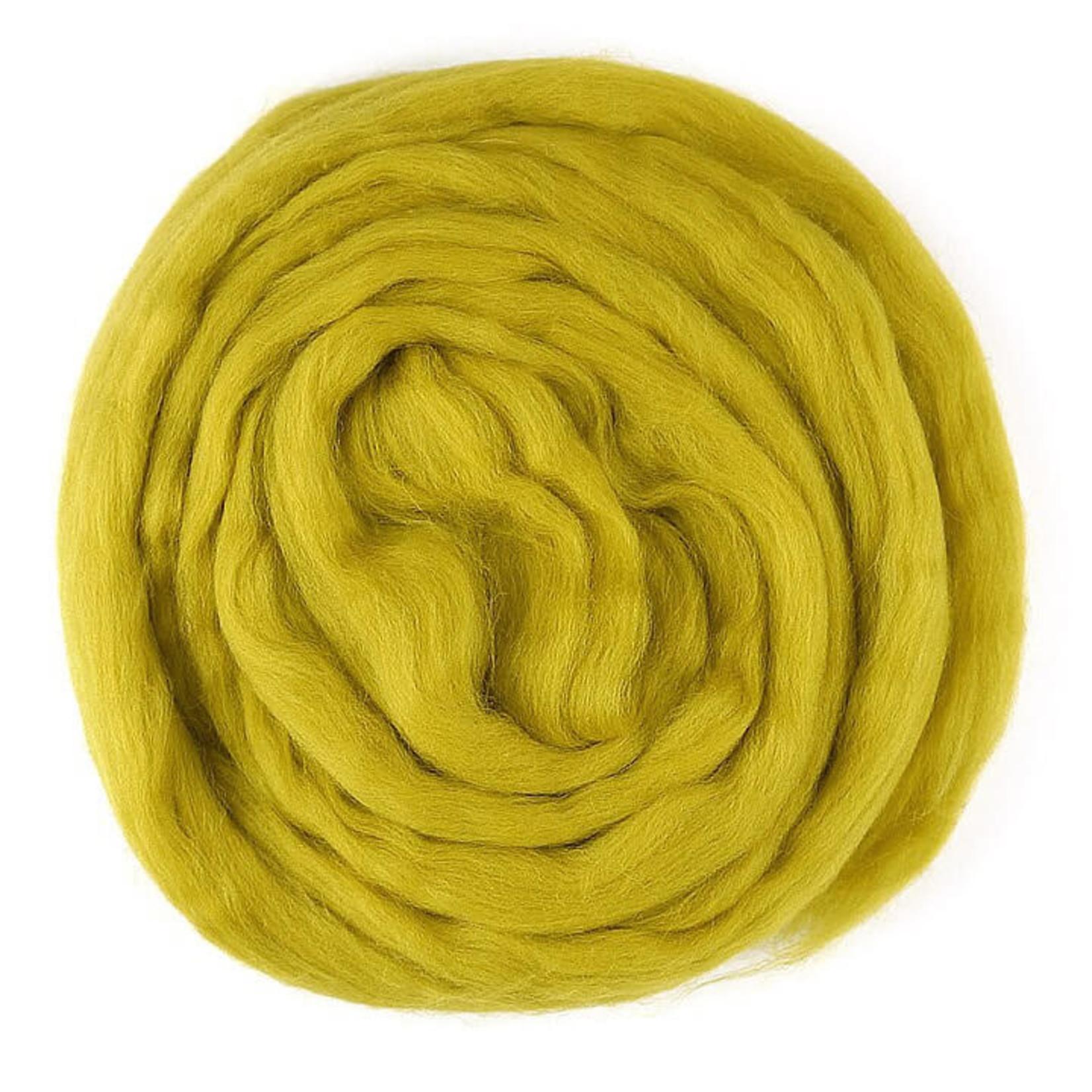 Meervilt Lontwol Merino EU - 603 Mustard - 50 gr.