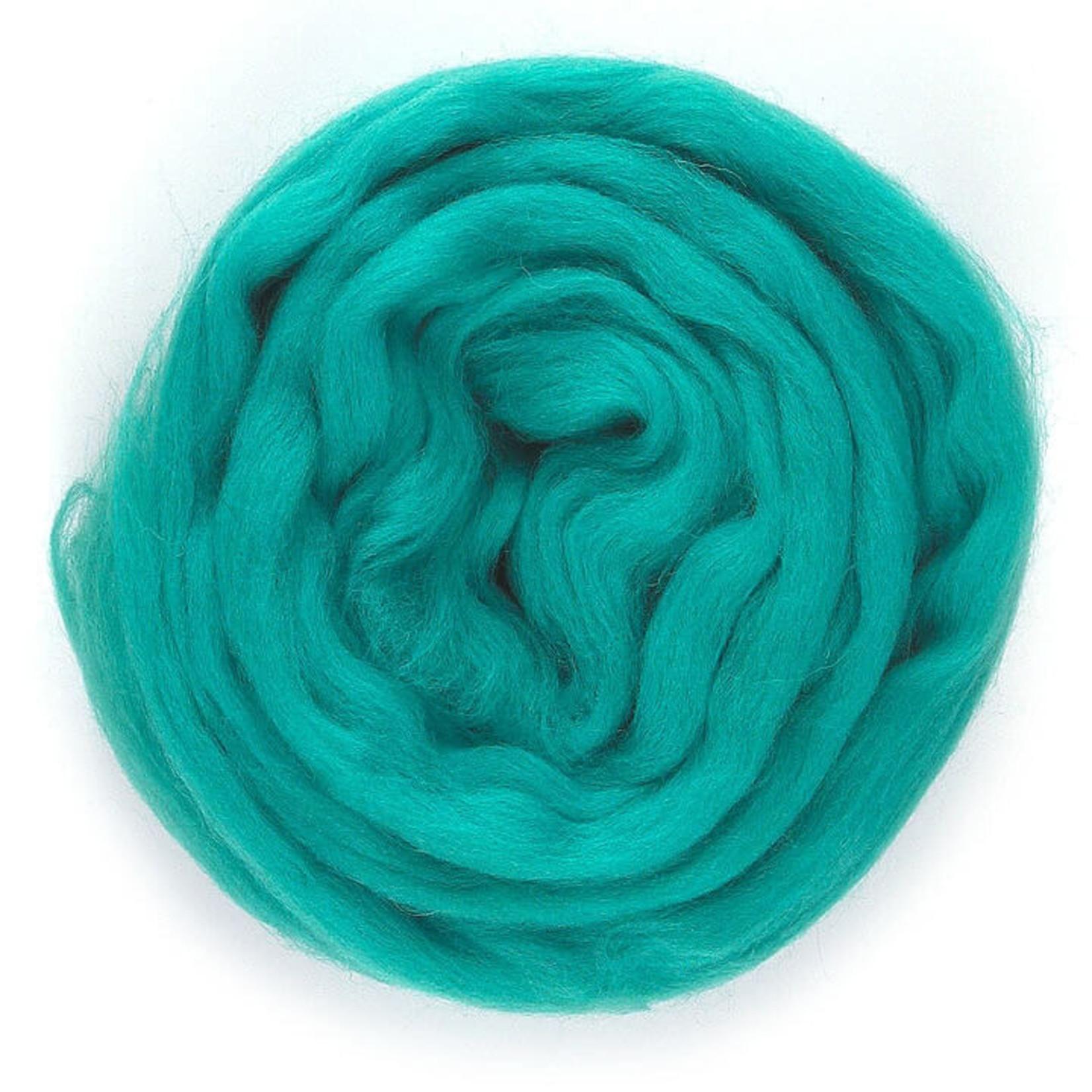 Meervilt Lontwol Merino EU - 657 Turquoise - 50 gr.